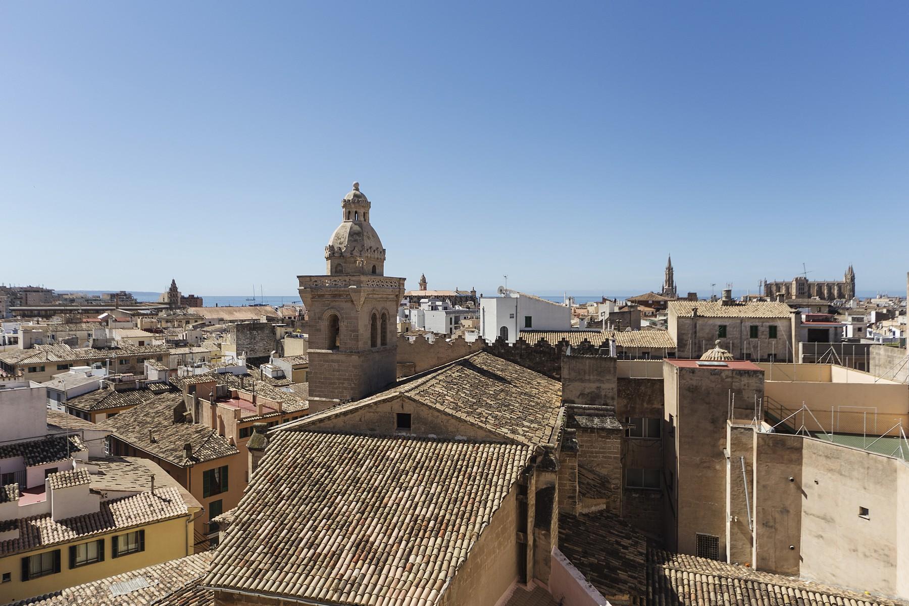 独户住宅 为 出租 在 Penthouse with views in Palma for rent 马洛卡, 巴利阿里群岛, 西班牙