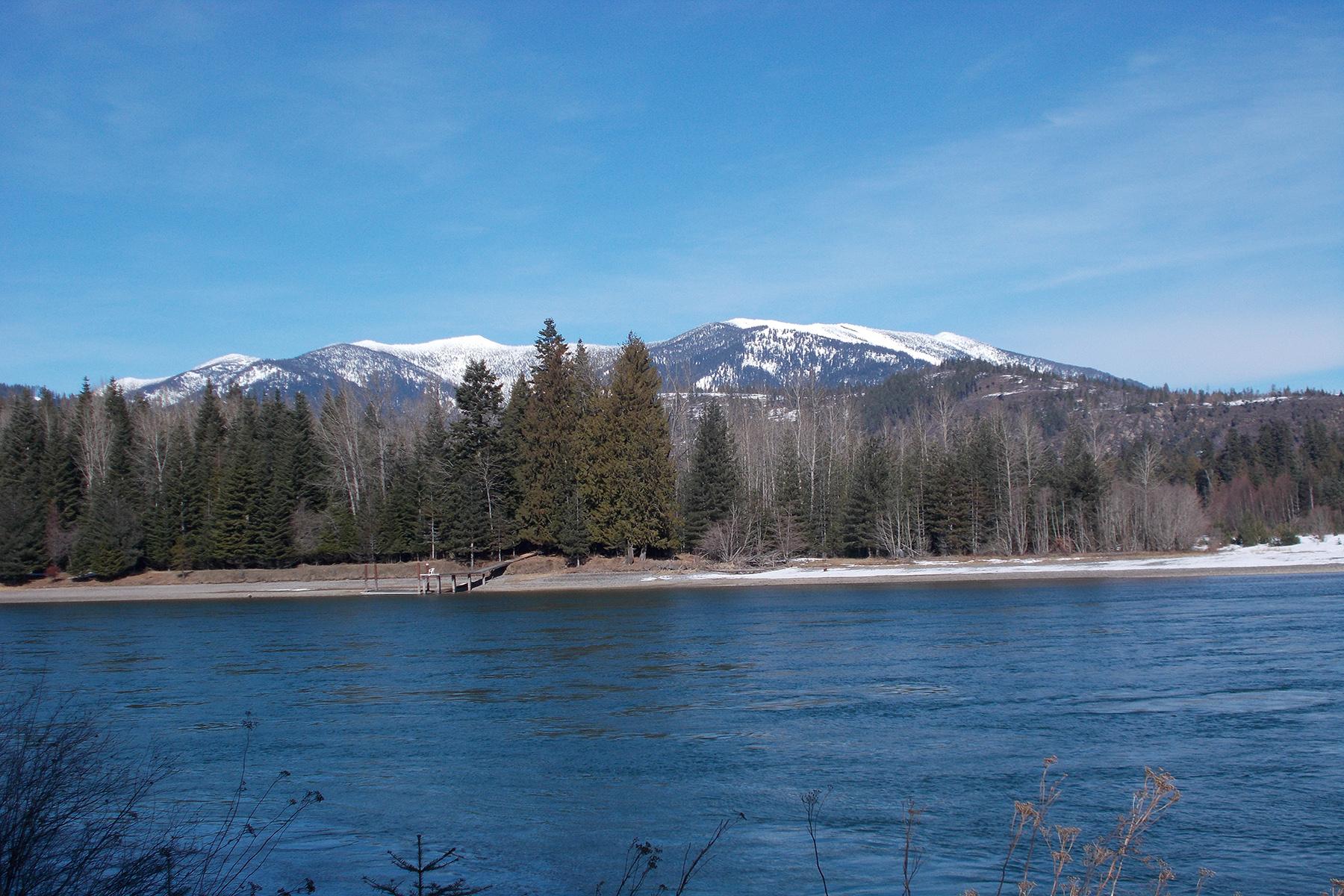 Terreno per Vendita alle ore Beautiful River Frontage w/Private Runway Lot 4 Derr Island, Clark Fork, Idaho, 83811 Stati Uniti