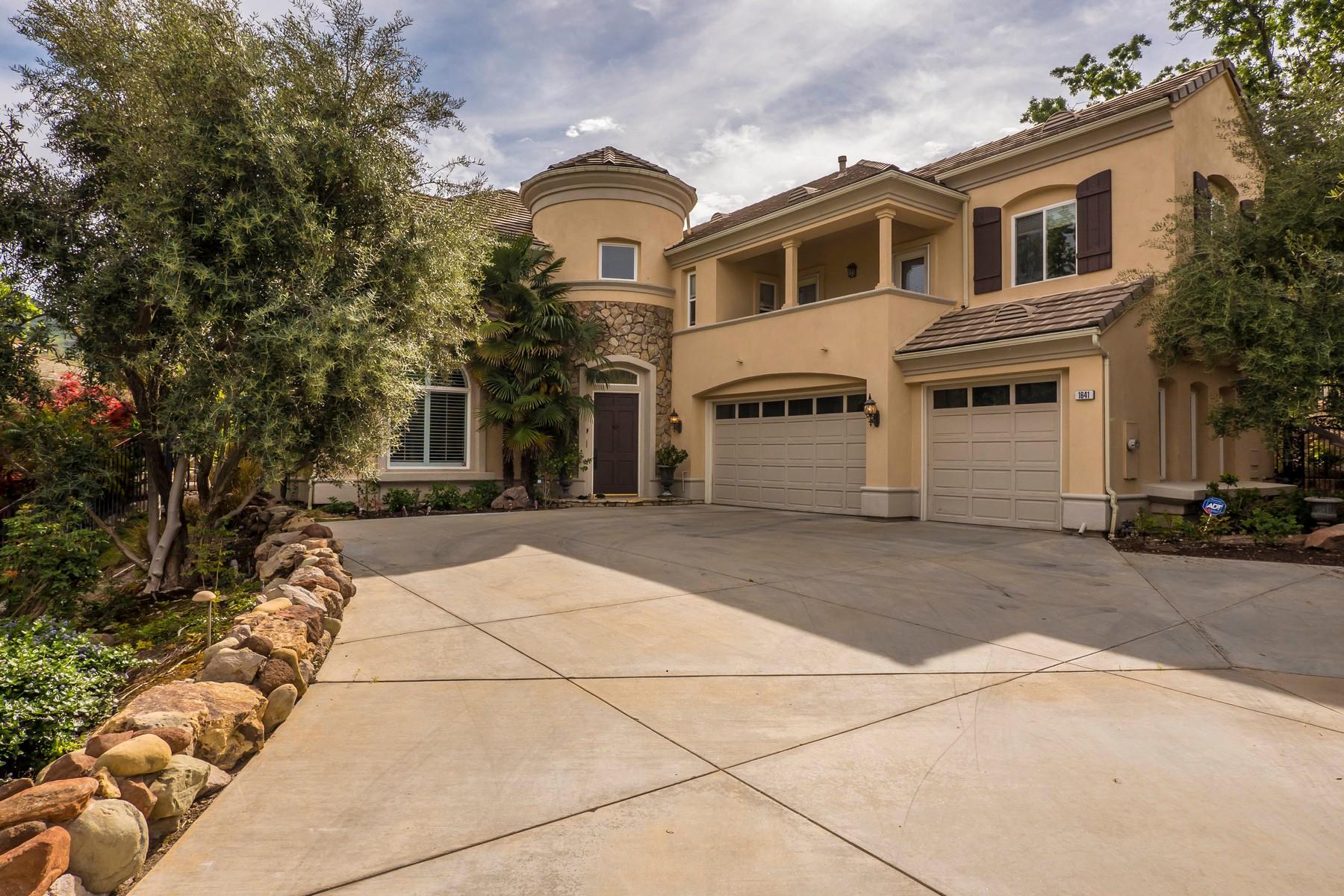 Частный односемейный дом для того Продажа на Vista Oaks Way 1641 Vista Oaks Way Westlake Village, Калифорния, 91361 Соединенные Штаты