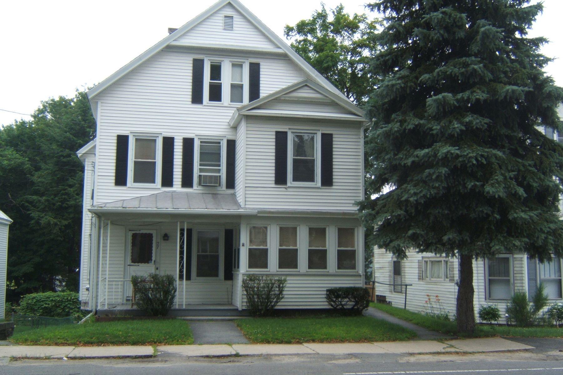 Multi-Family Homes 为 销售 在 27 Lancaster St. Leominster, 马萨诸塞州 01453 美国