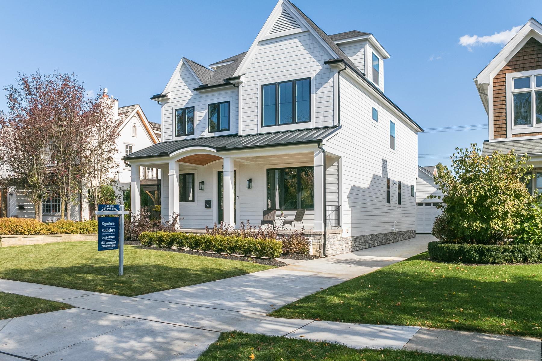 Single Family Homes for Sale at Birmingham 863 S Bates Birmingham, Michigan 48009 United States