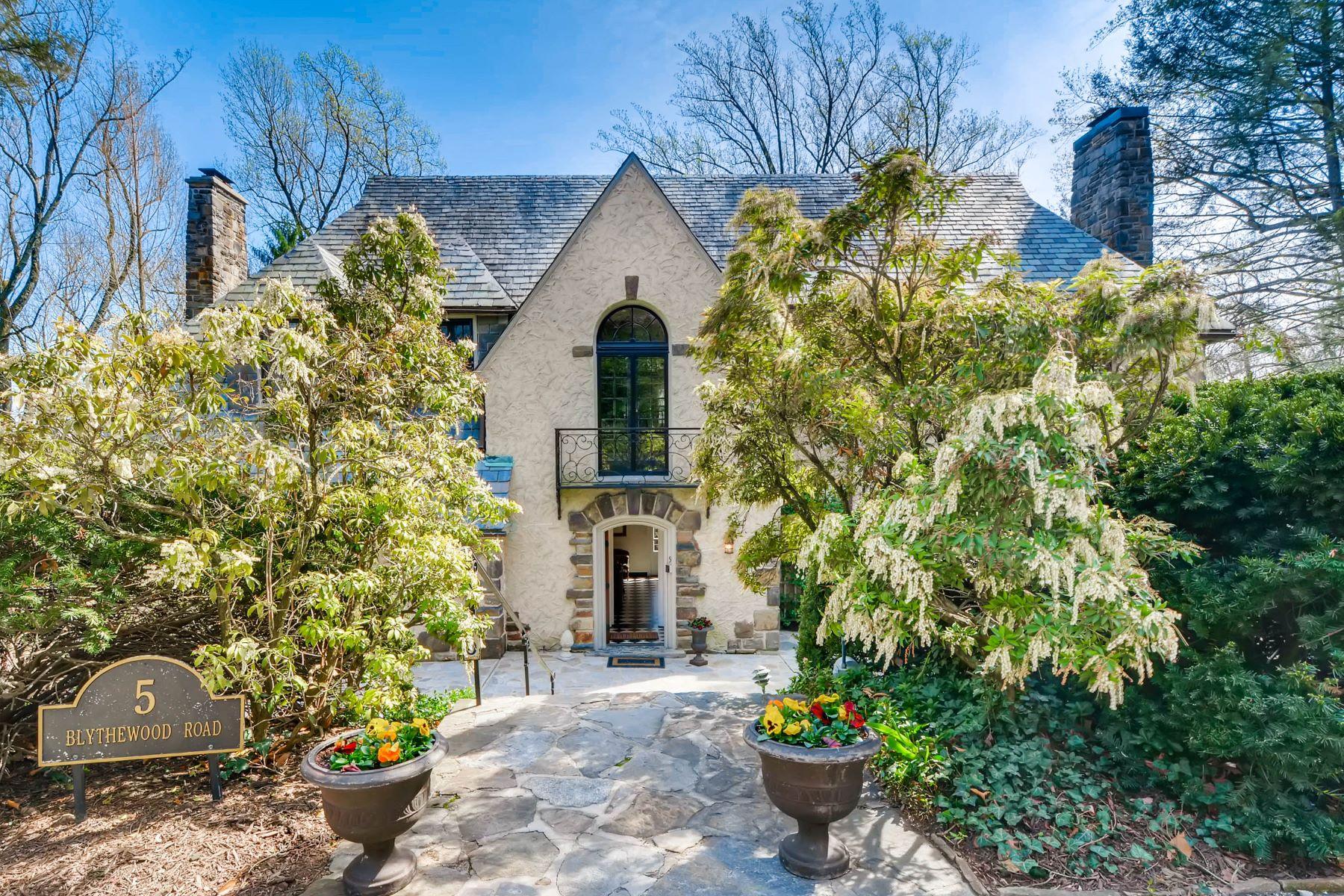Nhà ở một gia đình vì Bán tại 5 Blythewood Road Roland Park, Baltimore, Maryland, 21210 Hoa Kỳ
