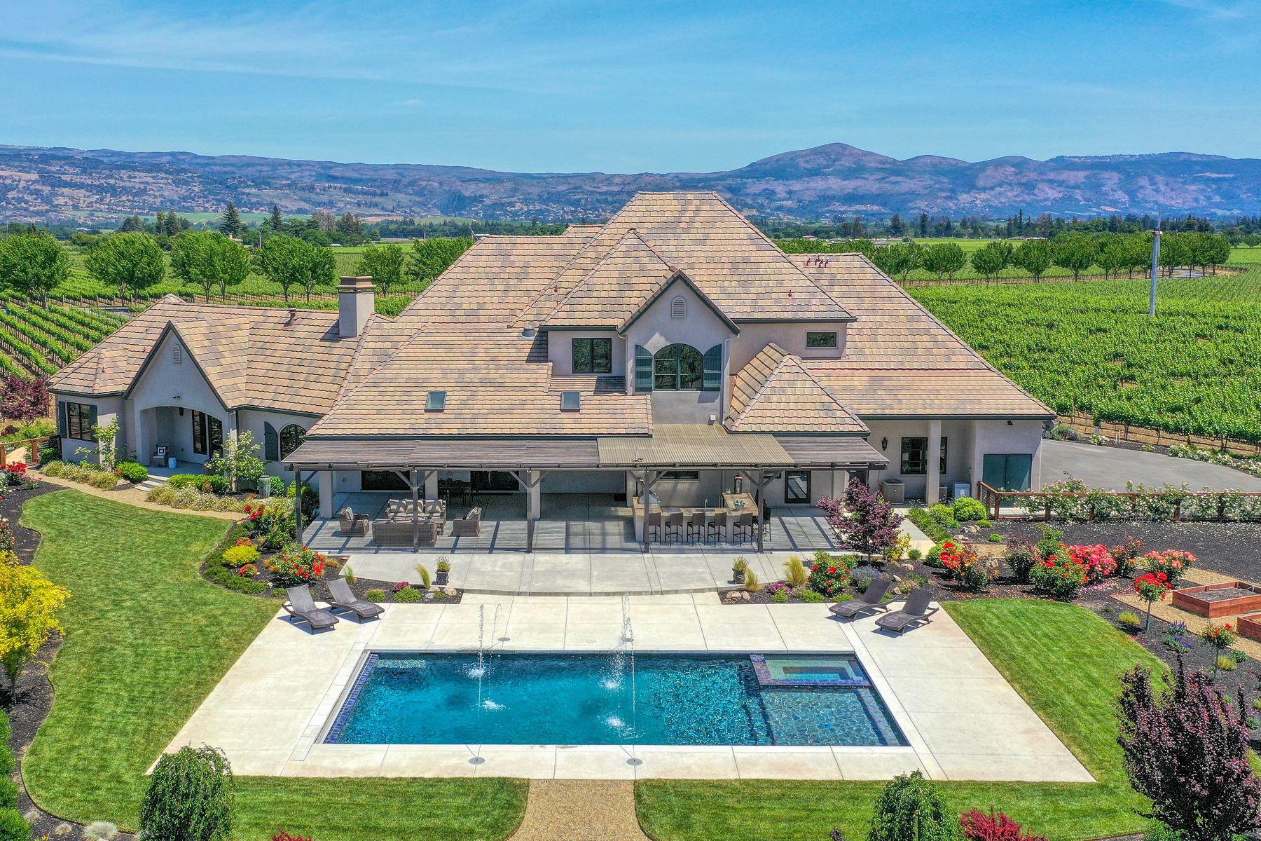 Single Family Homes for Active at Napa Valley Vineyard Estate 45 Hunter Ranch Road Napa, California 94558 United States
