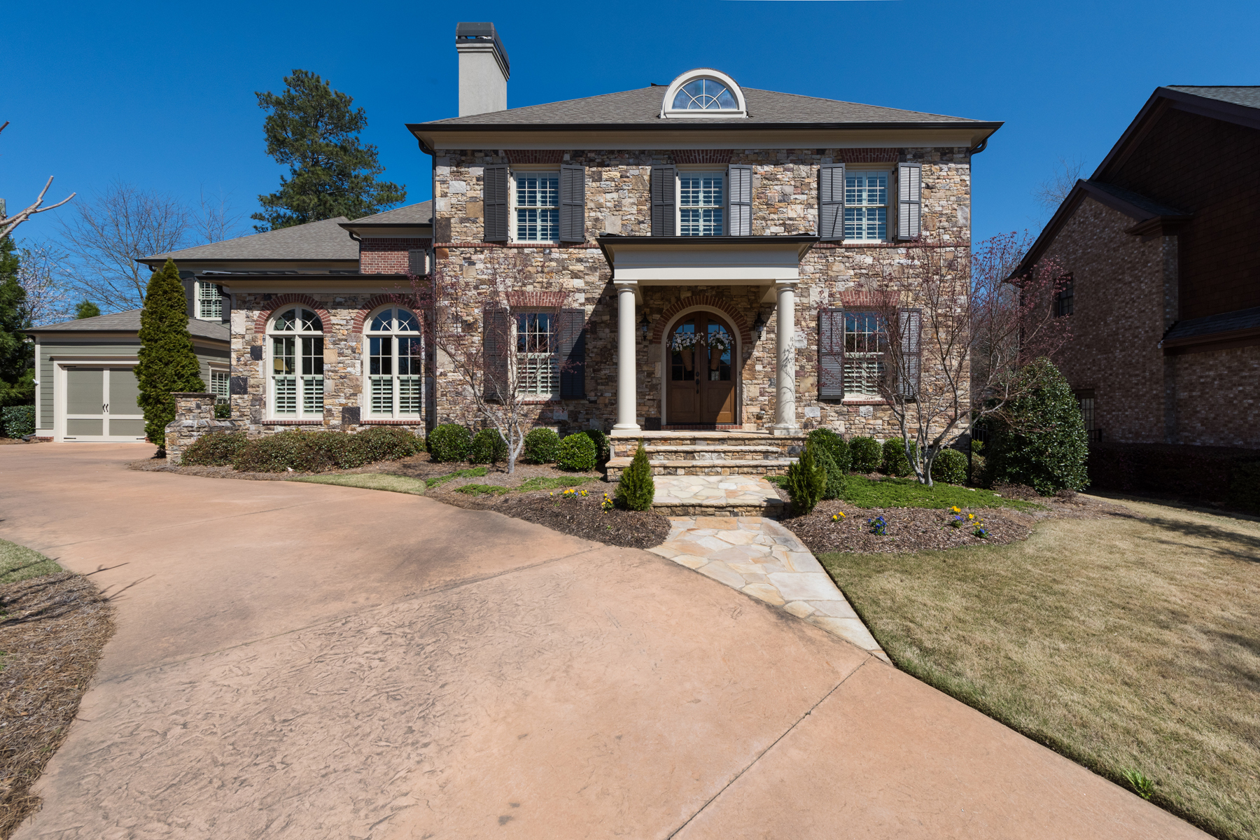 Single Family Home for Sale at Exquisite Residence In Gated Community Minutes From Historic Roswell 1005 Stonegrove Ln Roswell, Georgia 30075 United States