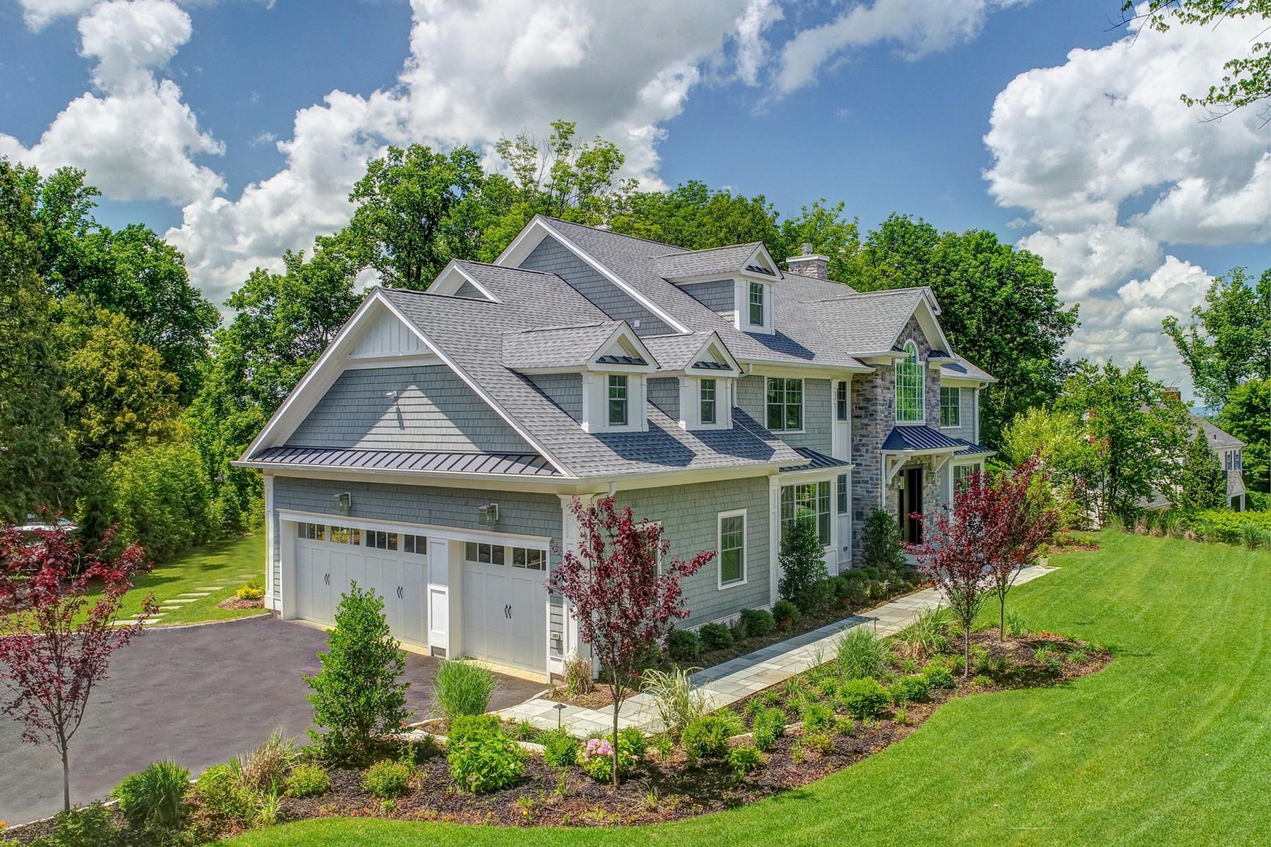 Enfamiljshus för Försäljning vid New Construction Above the Competition 7 Saratoga Way, Short Hills, New Jersey 07078 Usa