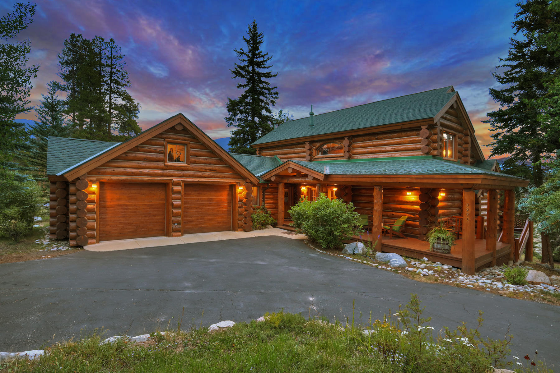 Single Family Home for Active at Log Home in Keystone West Ranch 95 Aster Court Keystone, Colorado 80435 United States
