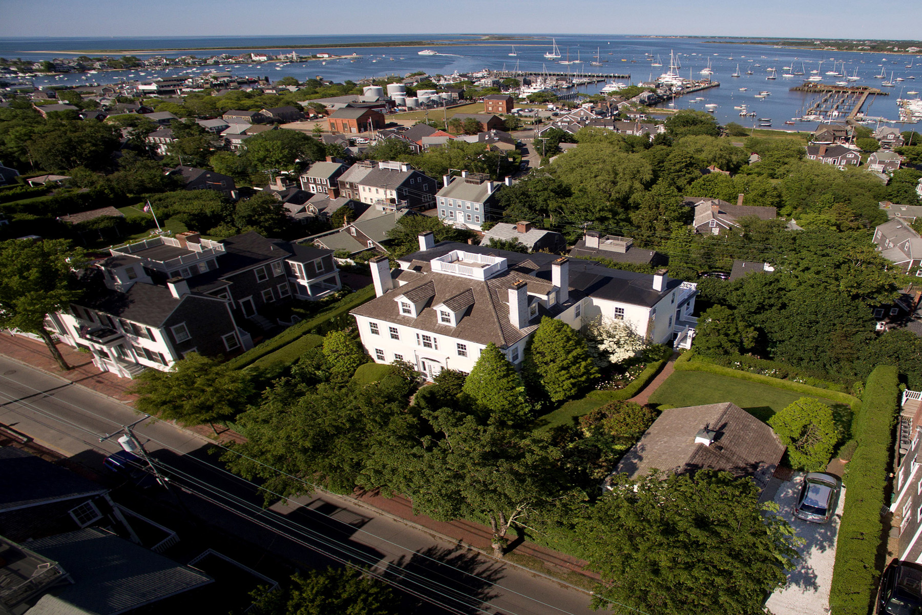 Single Family Home for Sale at Long Hill 30 Orange Street Nantucket, Massachusetts, 02554 United States