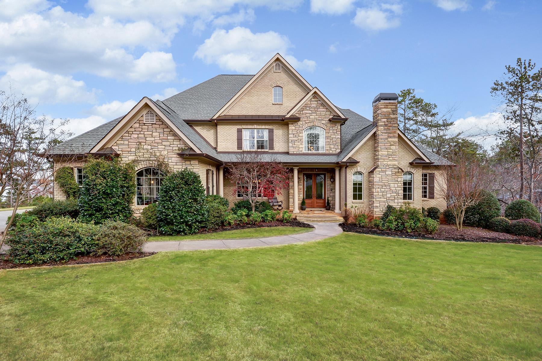 Single Family Home for Sale at Lake Lanier Estate 5492 Key Point Gainesville, Georgia 30504 United States