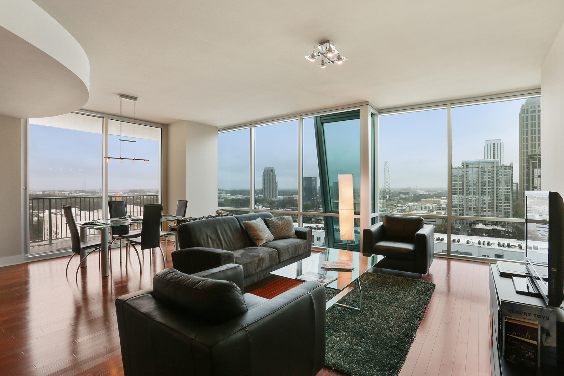 Condominium for Sale at Midtown Condo With Stunning Views 20 10th Street #1604, Atlanta, Georgia, 30309 United States