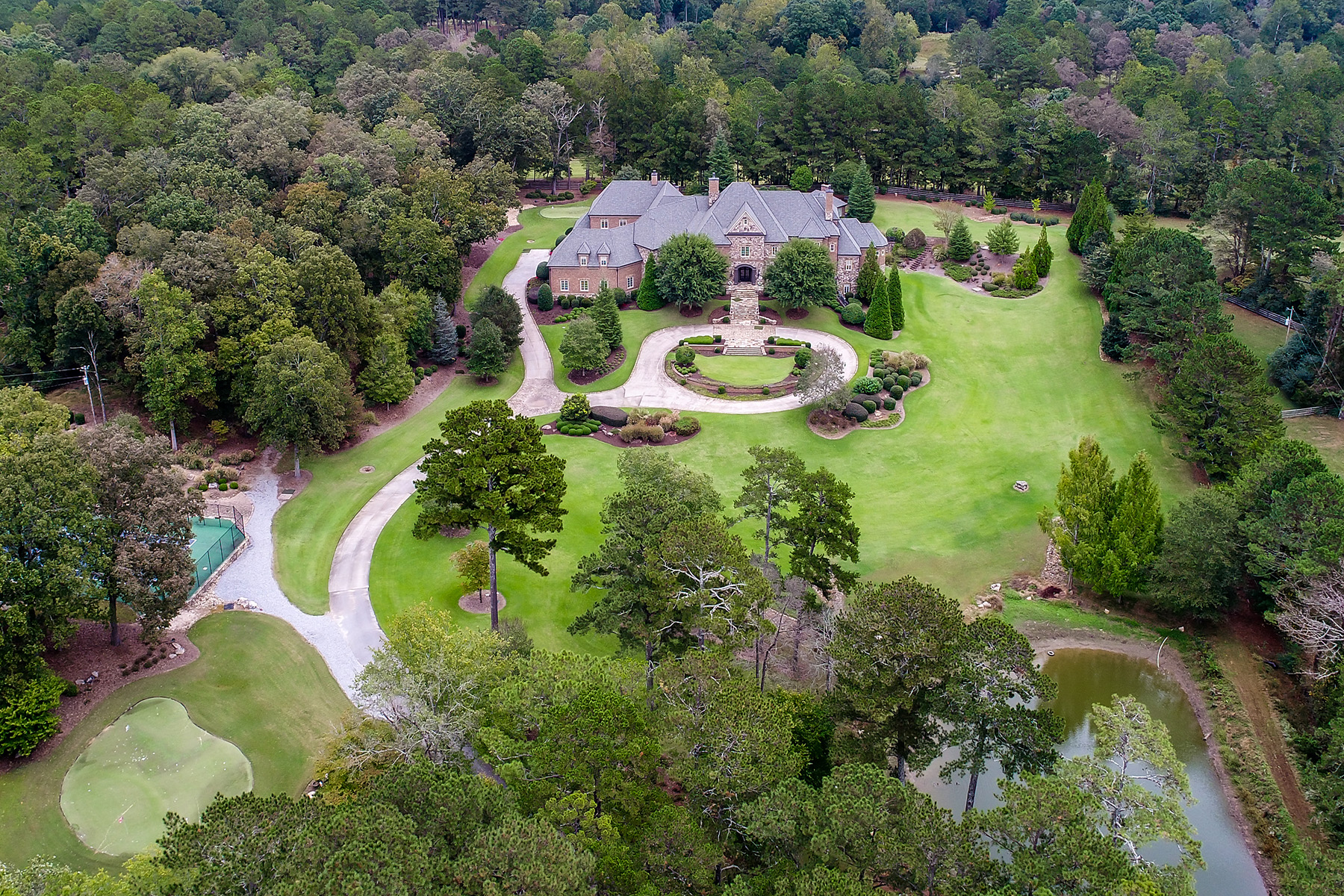 Additional photo for property listing at Exquisite Custom Estate in Milton's Horse Country 14680 Freemanville Road Milton, Georgia 30004 United States