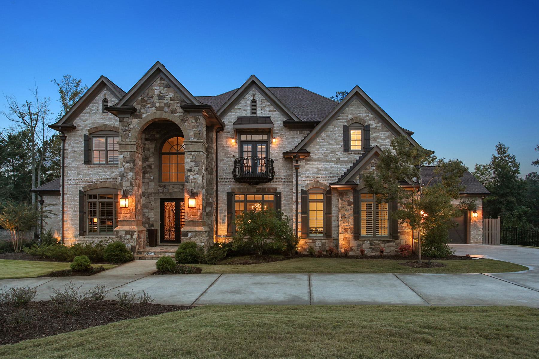 Single Family Homes por un Venta en Elegant Estate In Acworth 4401 Oglethorpe Loop, Acworth, Georgia 30101 Estados Unidos