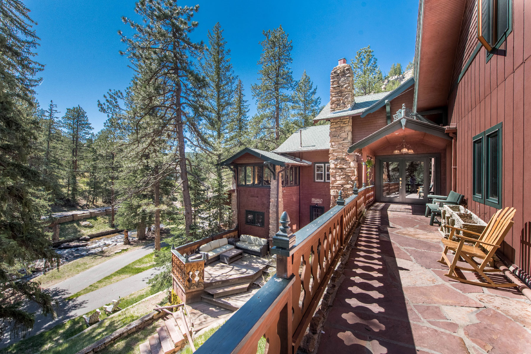 Single Family Home for Sale at Rippling Waters Estate 30754 Upper Bear Creek Road Evergreen, Colorado, 80439 United States