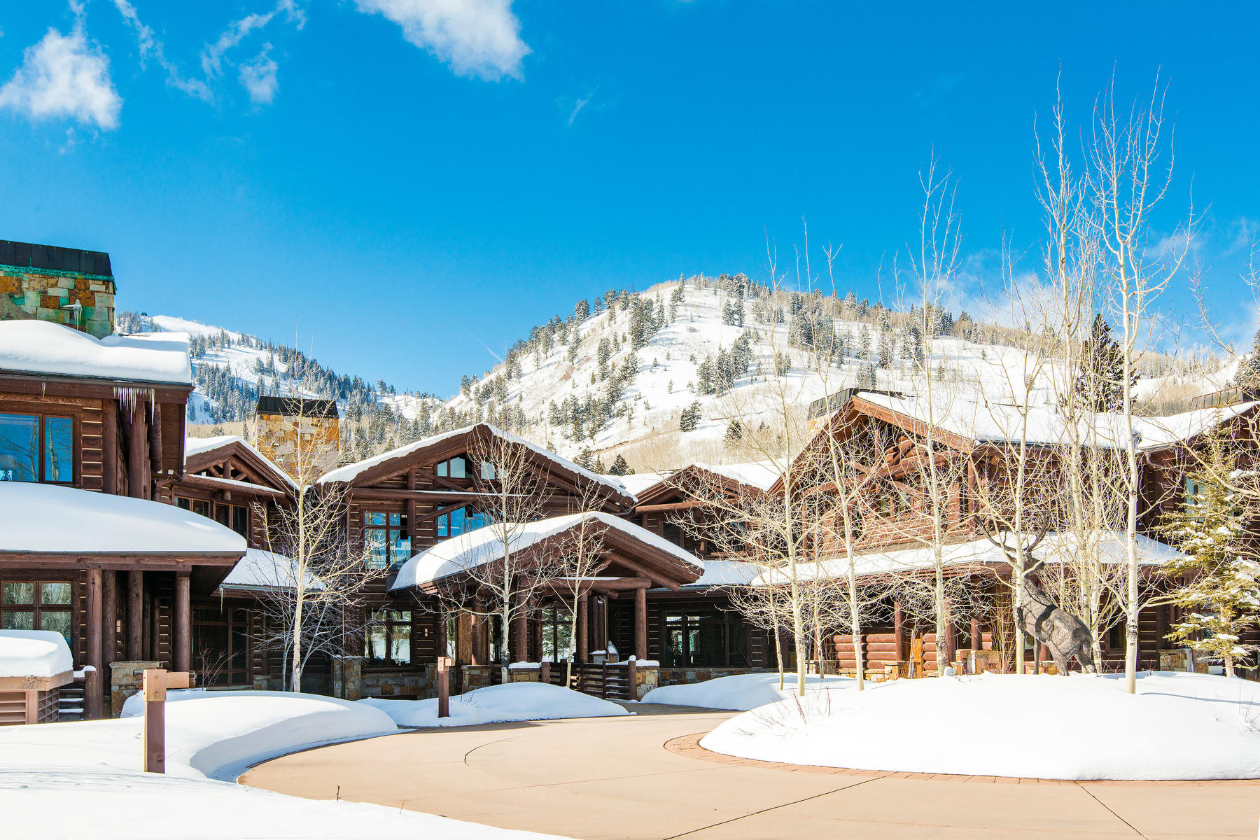 Maison unifamiliale pour l Vente à The Ultimate Ski-In / Ski-Out Estate 69 White Pine Canyon St. Lot 75, Park City, Utah, 84060 États-Unis