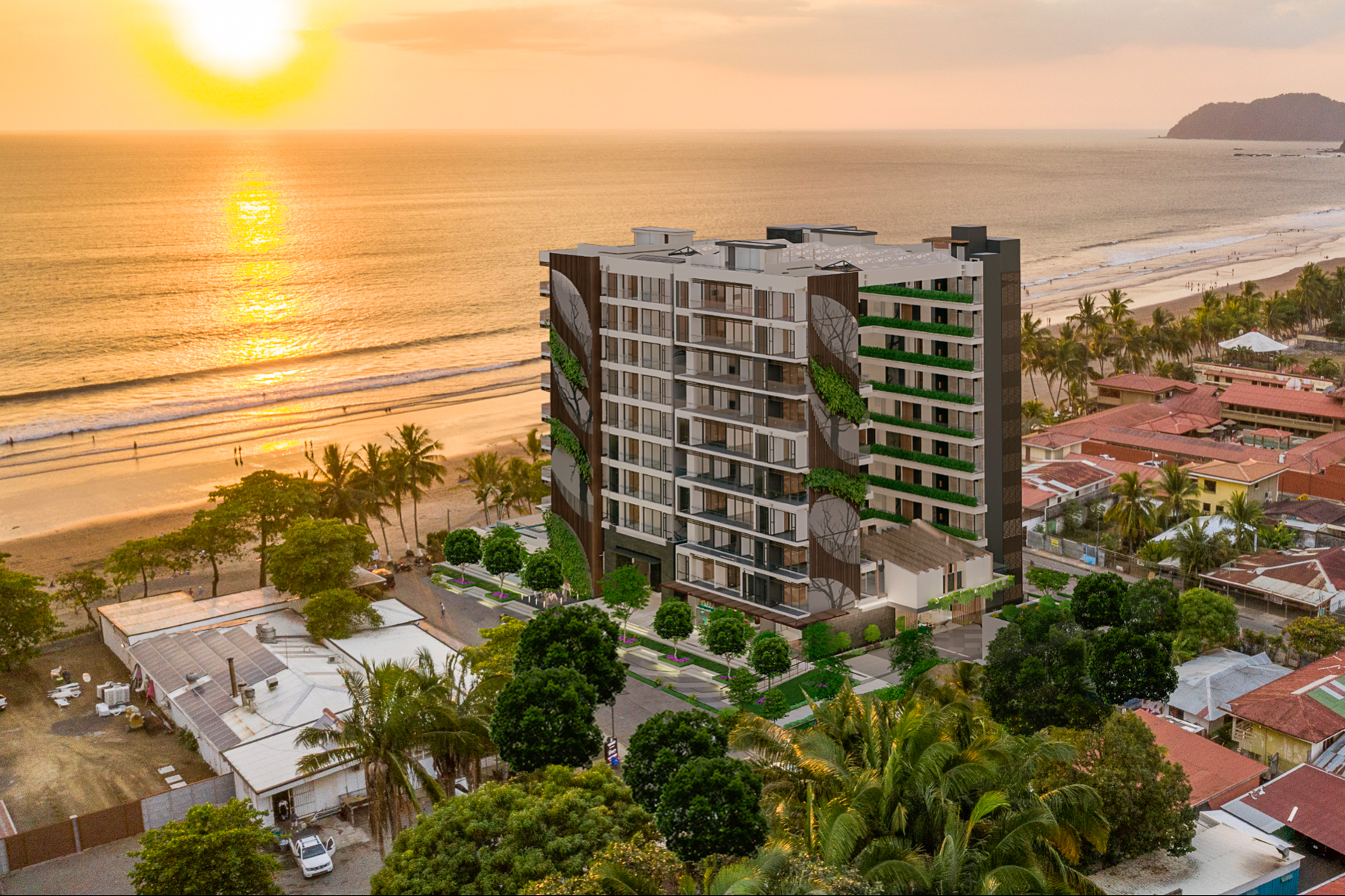 Apartments por un Venta en Jaco Walk Residences - 214, F1a - Mirador Tower Jaco, Puntarenas Costa Rica