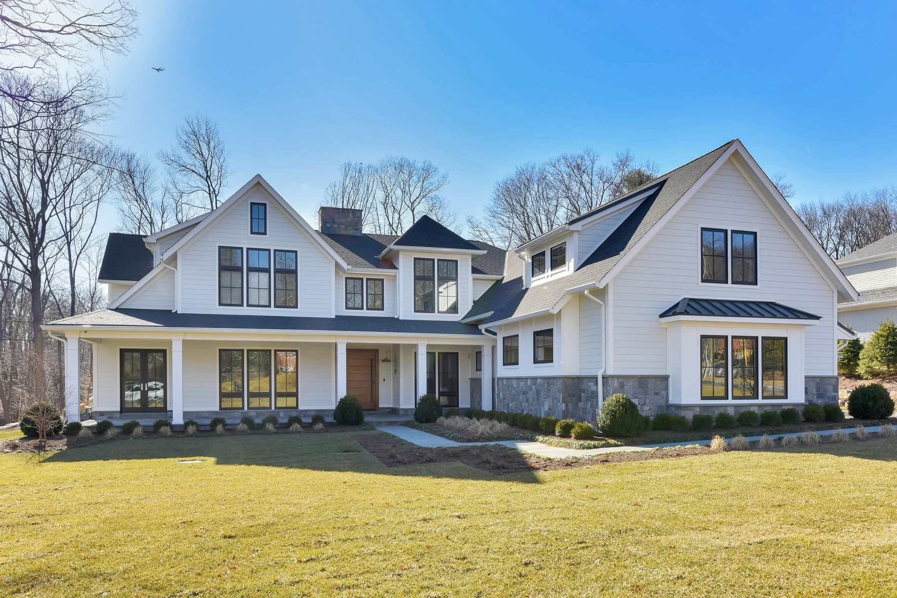 Single Family Home for Sale at Custom Modern 7000=Farm House 56 Dimmig Rd. Upper Saddle River, New Jersey 07458 United States