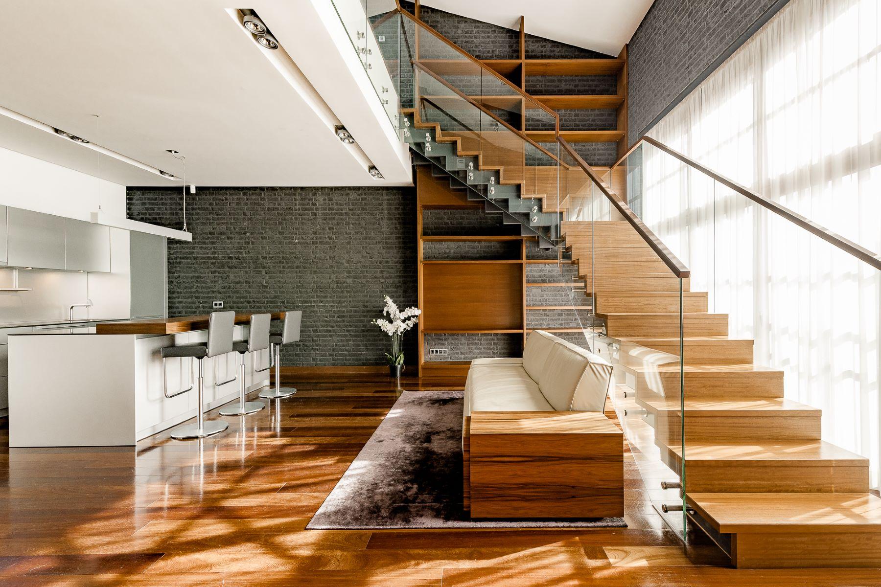 """Appartement pour l à vendre à Exclusive two level apartment in the project """"Gypsum Factory"""" Riga, Autres Régions De Lettonie, Lettonie"""