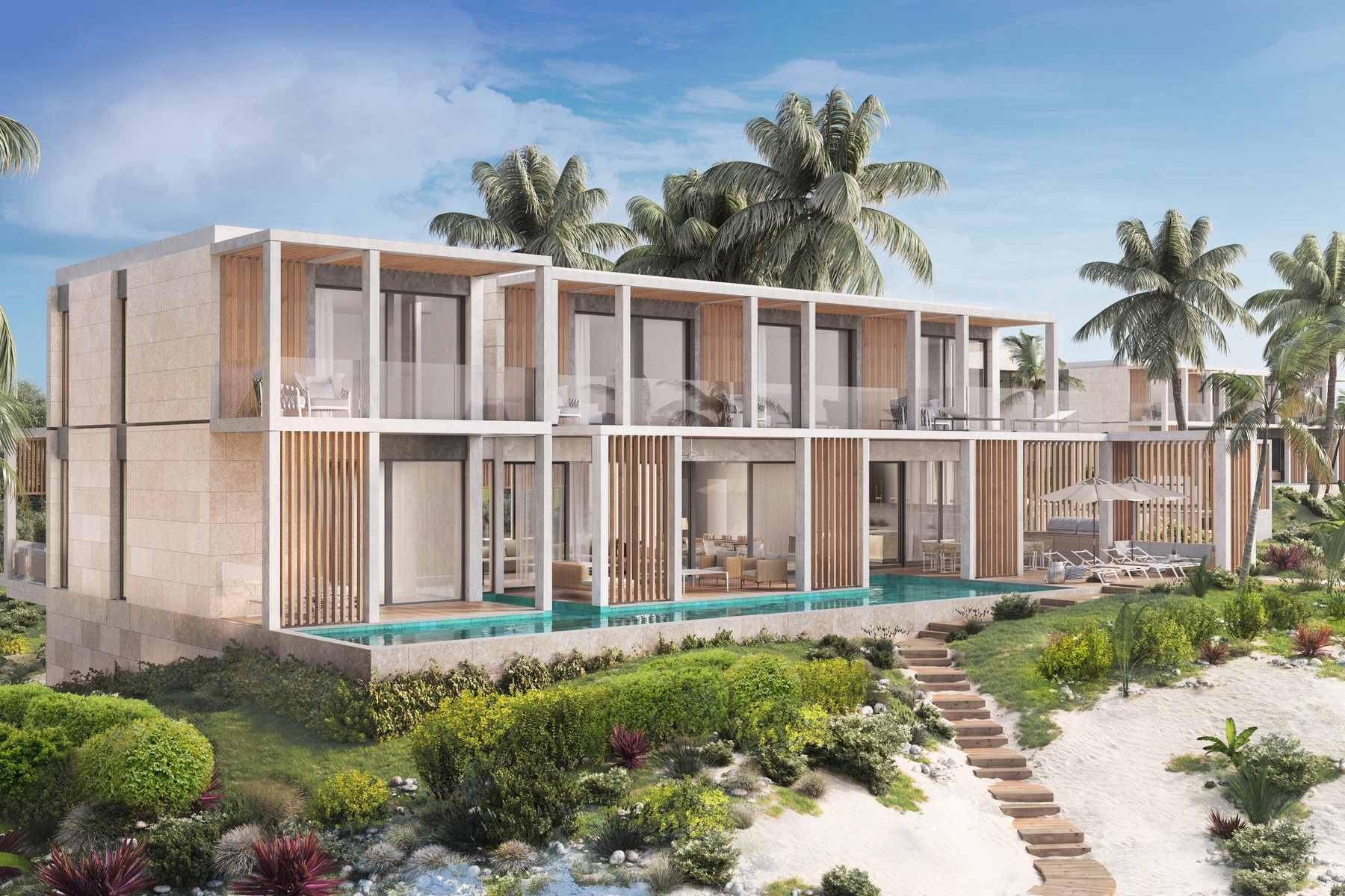 Single Family Homes for Sale at SOUTH BANK - THE OCEAN ESTATE I - DUNE VILLA South Bank, Long Bay, Providenciales Turks And Caicos Islands