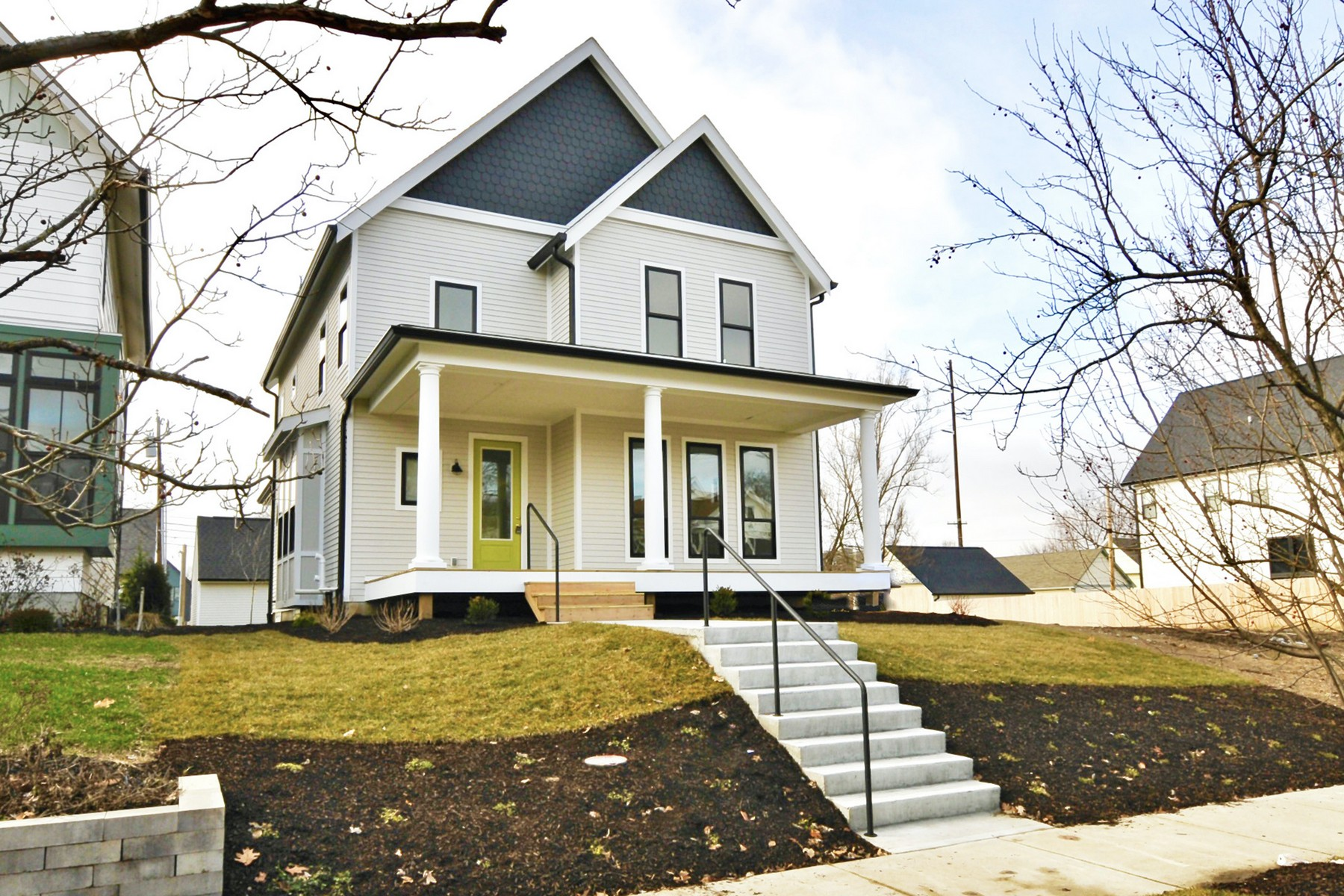 Single Family Homes for Active at New Build 2138 North New Jersey Street Indianapolis, Indiana 46202 United States