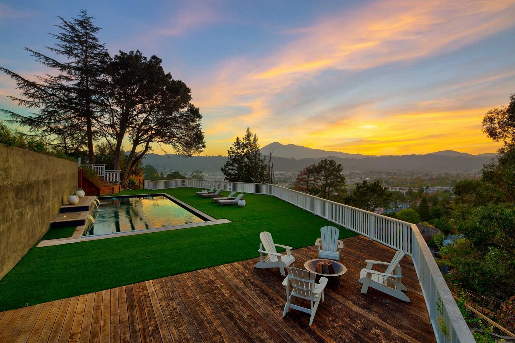 Single Family Homes for Active at Gated Country Club Estate Offering Resort-Style Living with Mount Tam Views 35 West Seaview Avenue San Rafael, California 94901 United States