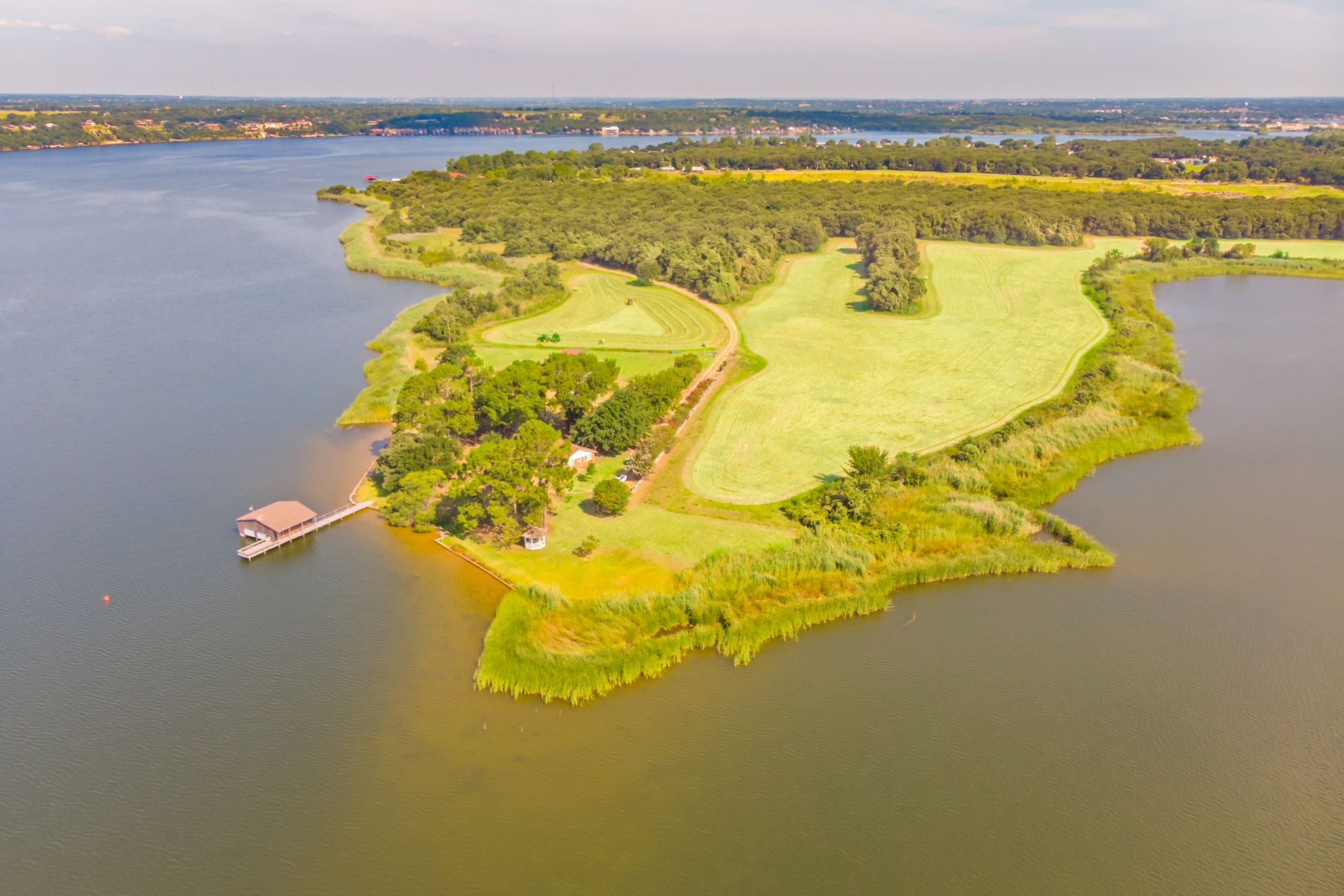 Single Family Homes for Sale at Stunning Lake Granbury Location 6801 John Gee Court Granbury, Texas 76049 United States