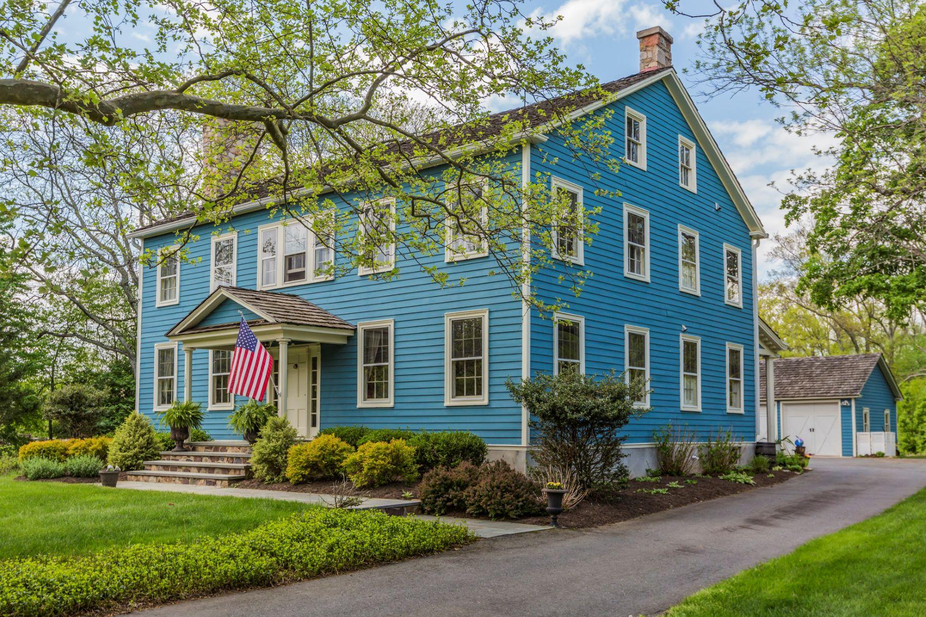 Nhà ở một gia đình vì Bán tại Restored Farmhouse Enveloped by Protected Land - South Brunswick Township 134 -136 Mapleton Road Princeton, New Jersey, 08543 Hoa Kỳ