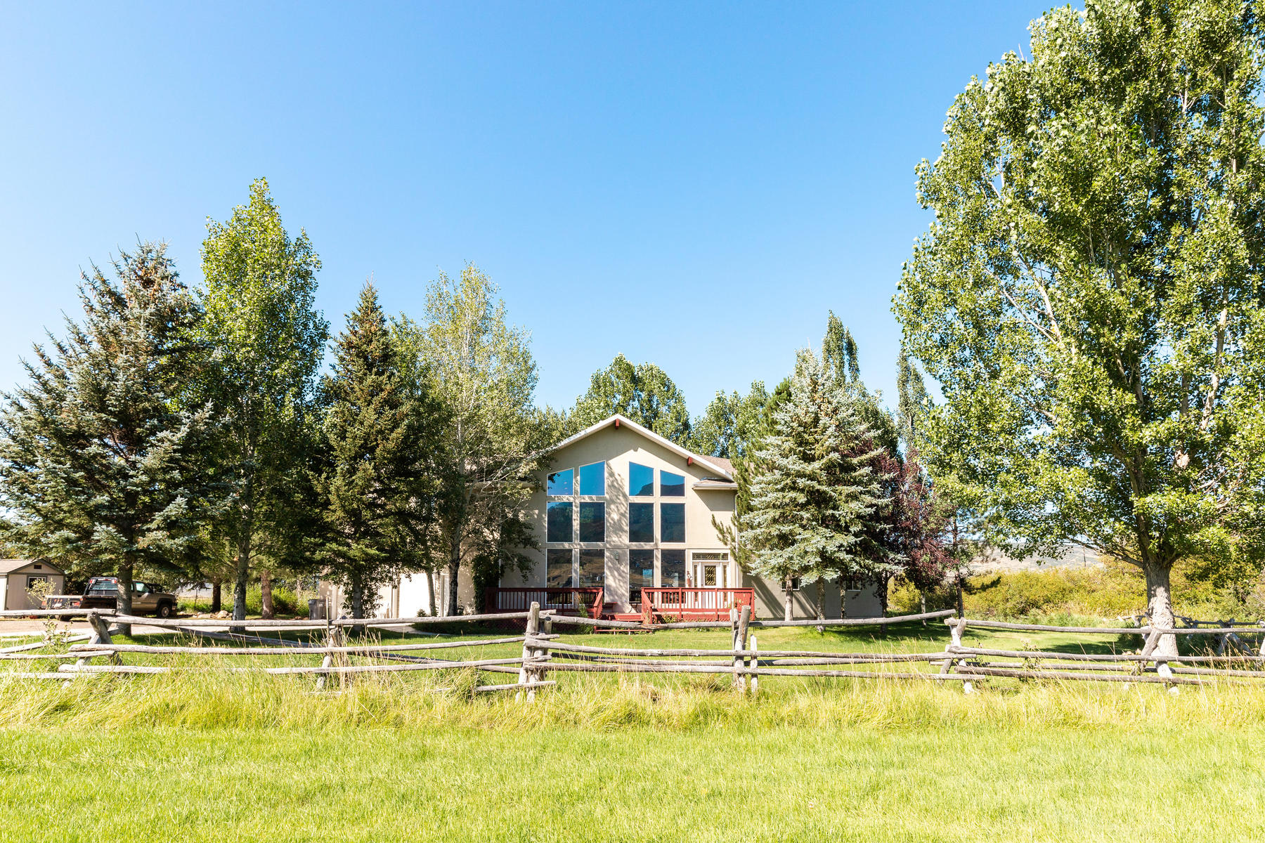 Farm / Ranch / Plantation for Active at Wonderful 4 Bed 3 Bath 18.4 Acre Estate on Stream in Kamas Valley 1075 N State Rd 32 Kamas, Utah 84036 United States