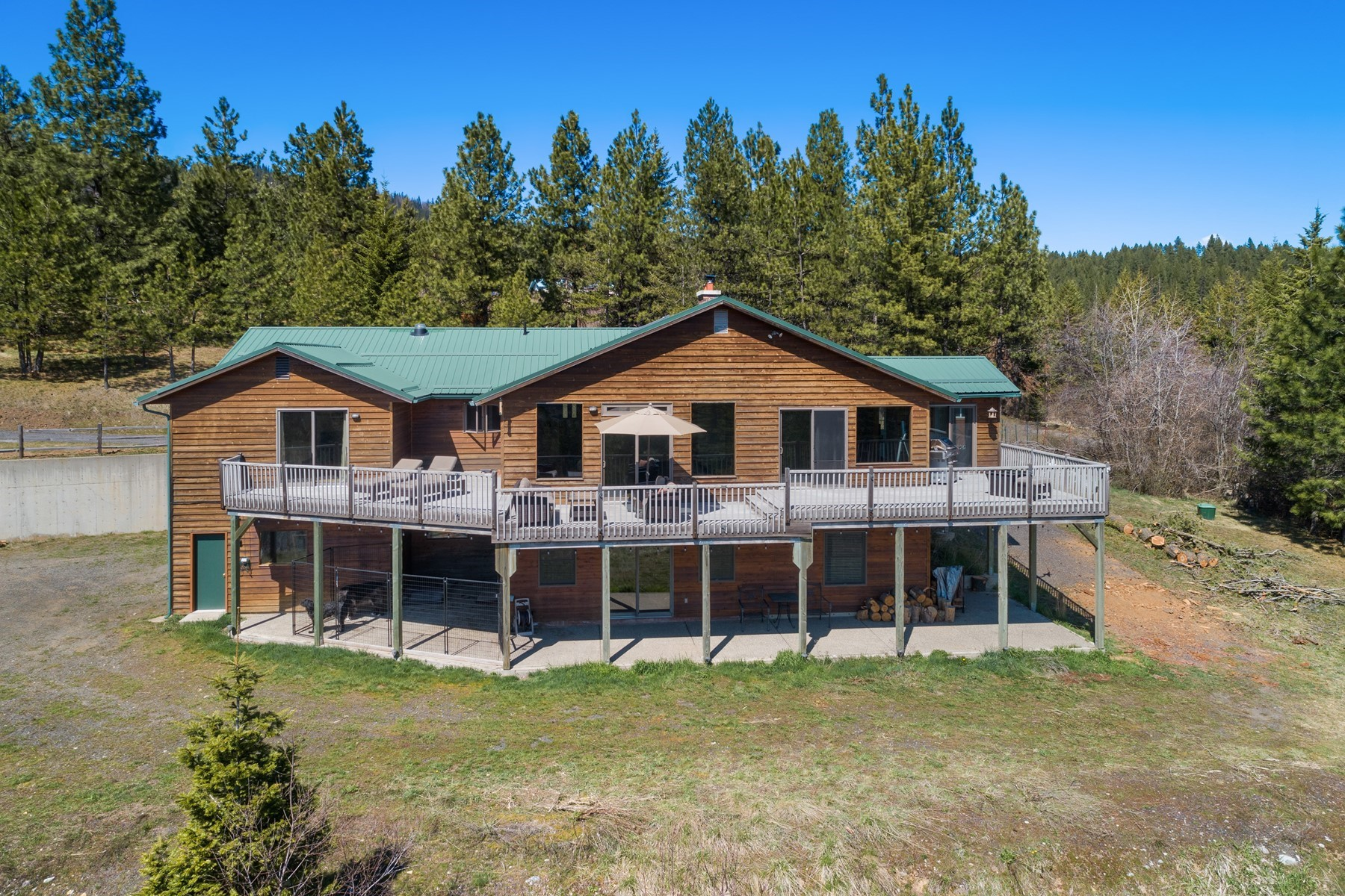 Single Family Homes for Sale at Home on Acreage with Views 2184 S Big Bear Rd Coeur D Alene, Idaho 83814 United States