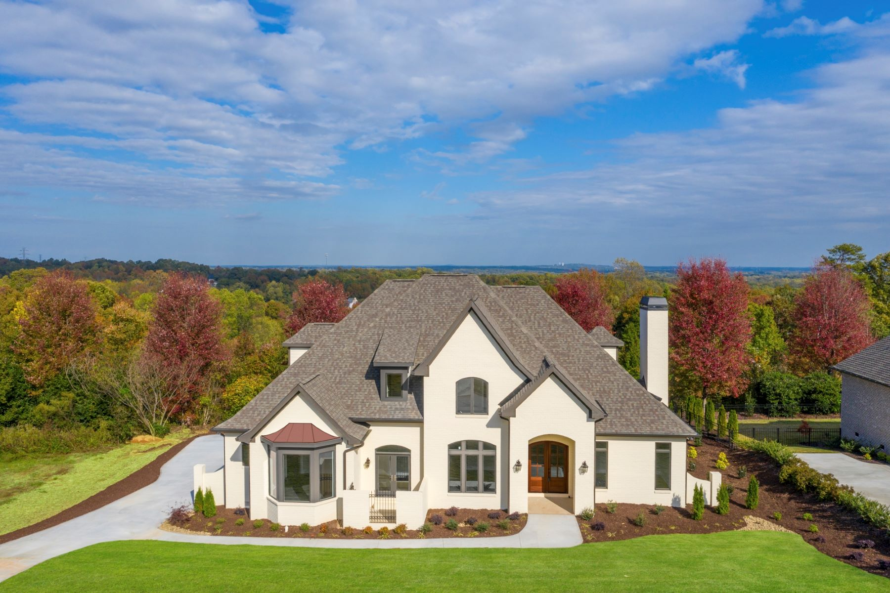Single Family Homes for Active at Brand new home in gated Promenade section of Montebello 125 Gascony Drive Greenville, South Carolina 29609 United States