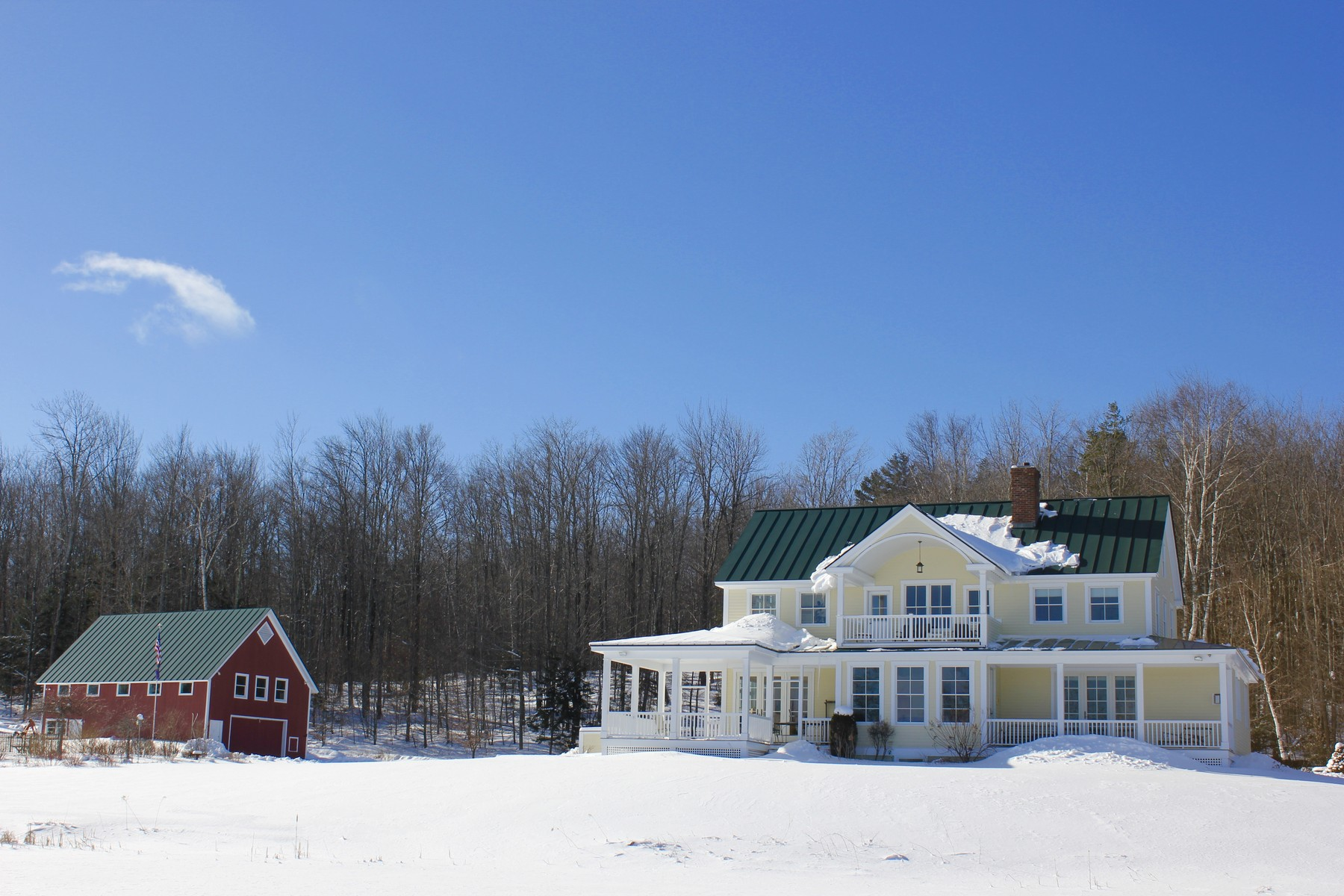 Single Family Home for Sale at South Hill Hideaway 93 Godfrey Rd Ludlow, Vermont 05149 United States