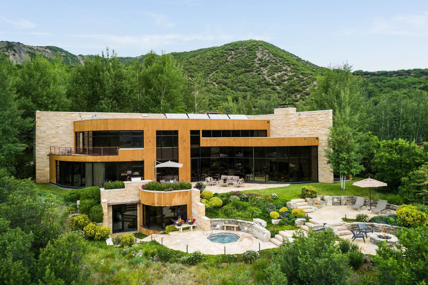 Single Family Home for Active at Horse Ranch Estate 143 Saddleback Lane Snowmass Village, 81615 United States
