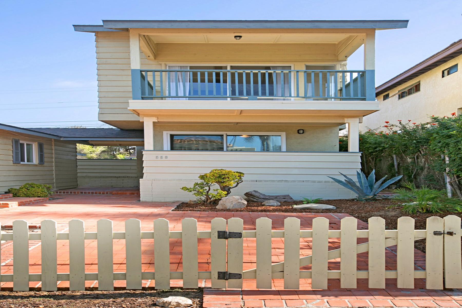 Частный односемейный дом для того Аренда на 559 4th Street Encinitas, Калифорния, 92024 Соединенные Штаты