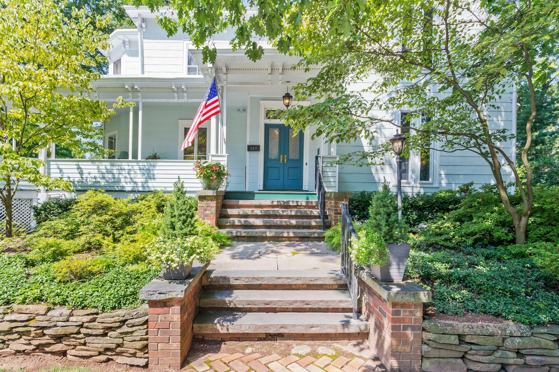 Multi-Family Homes for Sale at Historic Victorian with Garden Apartment 207 Lake Ave Metuchen, New Jersey 08840 United States