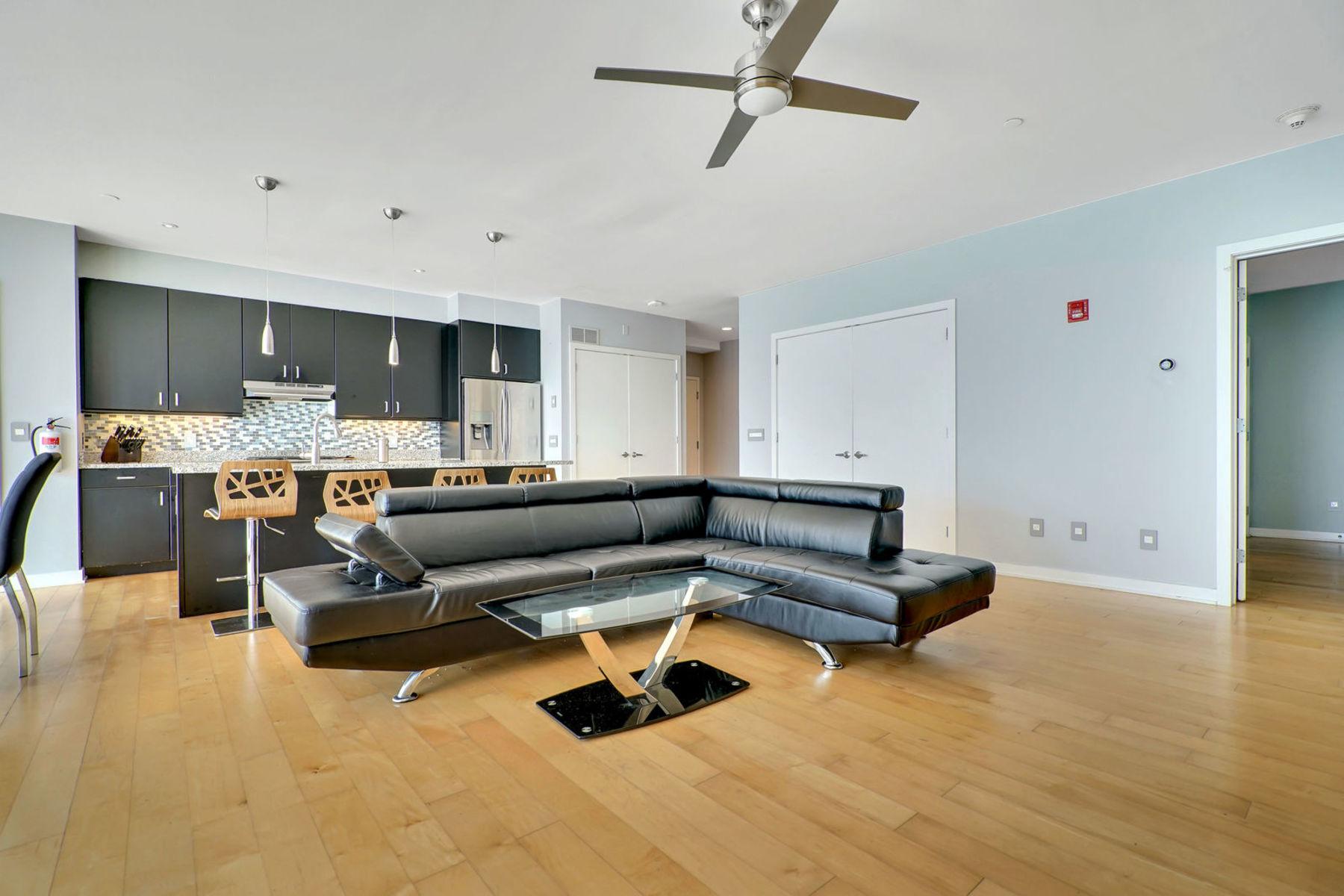 Кондоминиум для того Продажа на Modern Luxury Condo 510 Monroe 103 Asbury Park, Нью-Джерси 07712 Соединенные Штаты