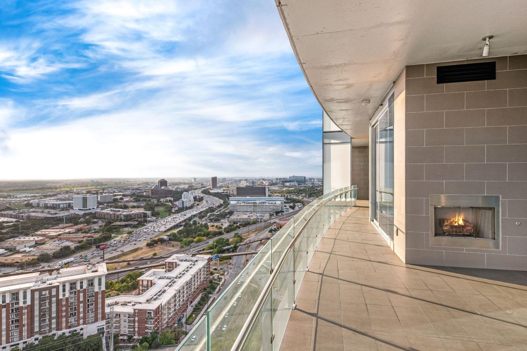 Condominiums for Active at Elite Bleu Ciel Condo 3130 N. Harwood Street #2901 Dallas, Texas 75201 United States