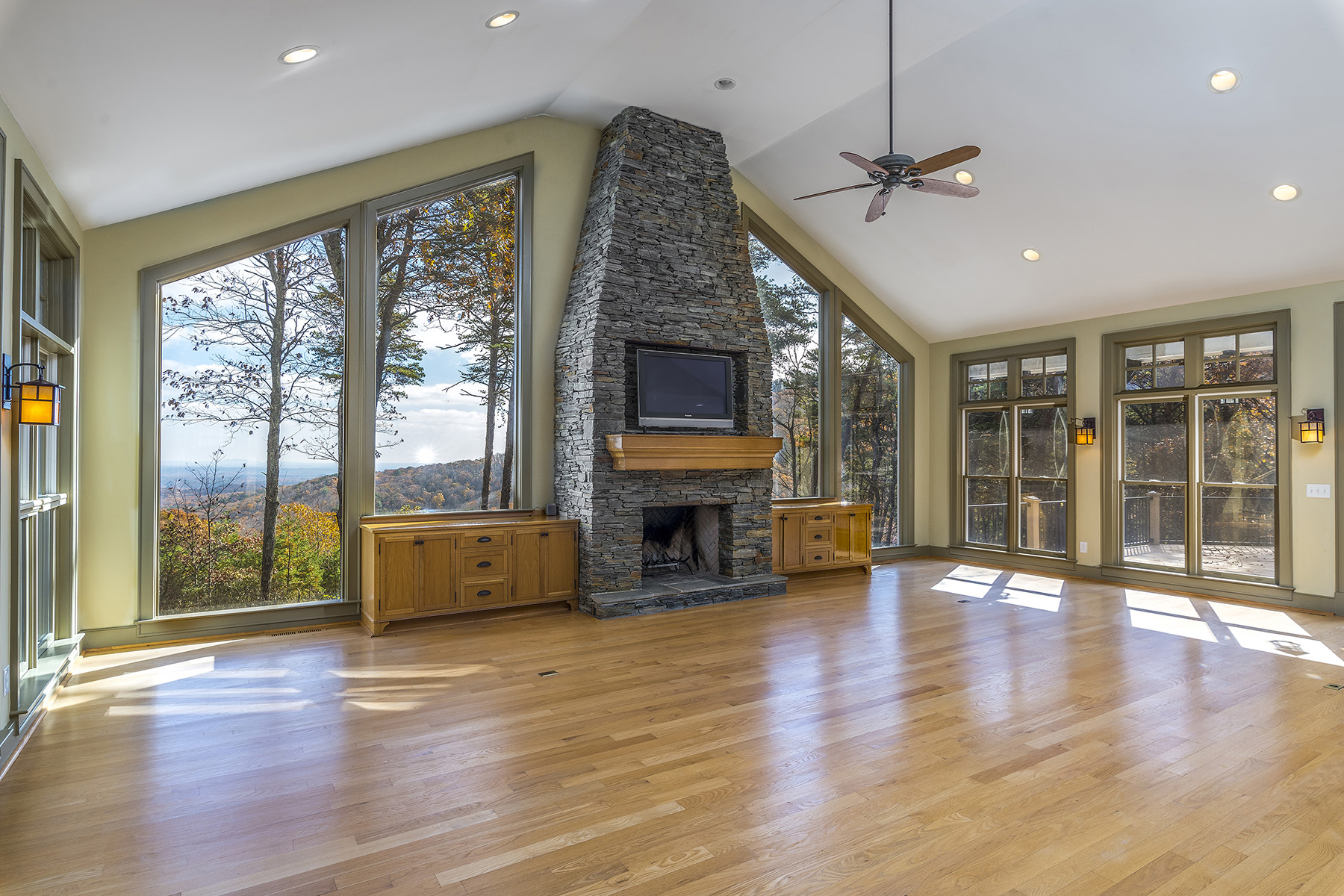 Single Family Home for Sale at Amazing Long Range Mountain View. Seven Private Acres. 13 Westview Dr Jasper, Georgia 30143 United States