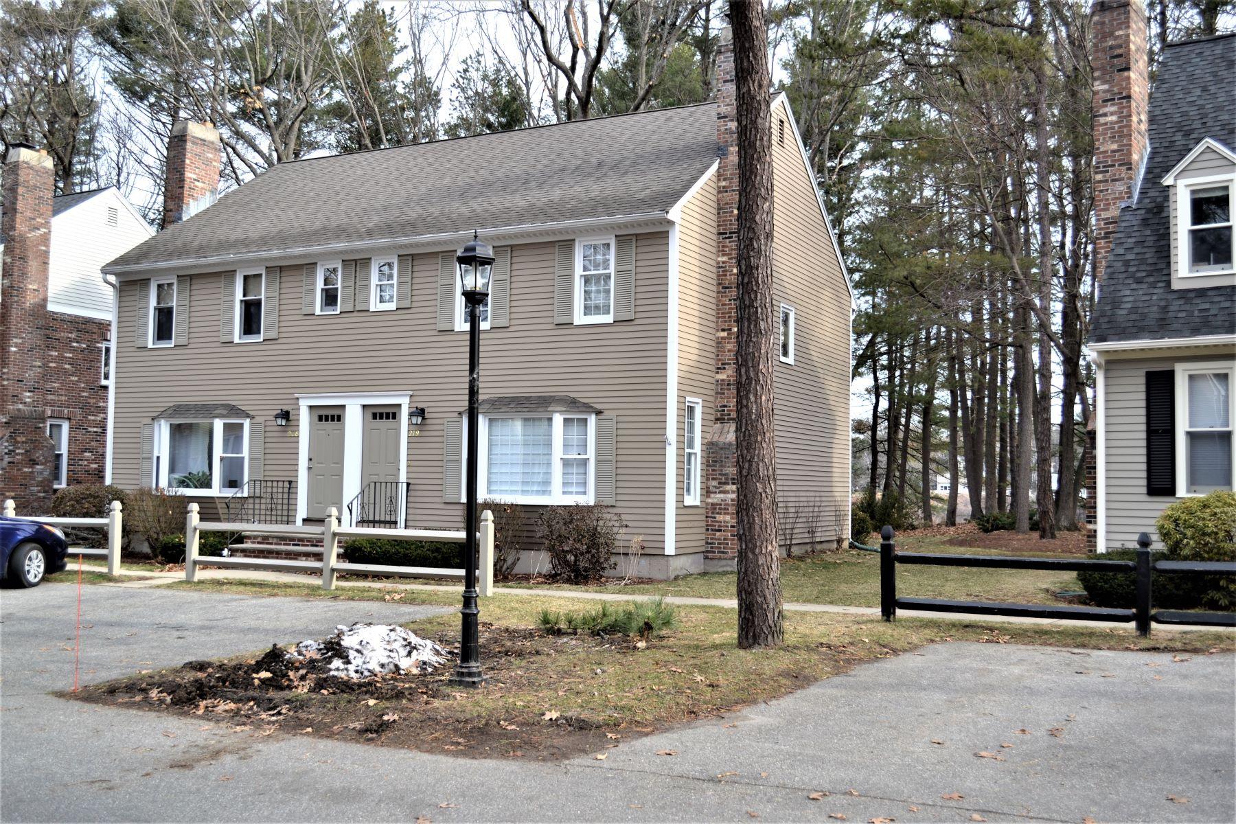 Radhus för Försäljning vid Waterfront 2 bed, 3 bath 279 Wellman Ave, Unit 279 Chelmsford, Massachusetts 01863 Usa