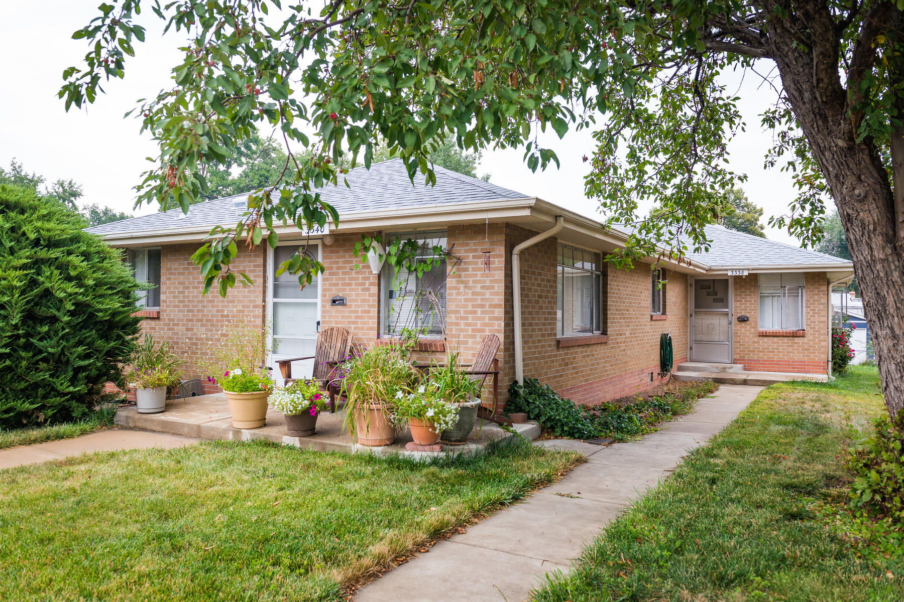 Single Family Home for Active at Great Side By Side Duplex With Upside Potential 3338-3340 Perry St Denver, Colorado 80212 United States