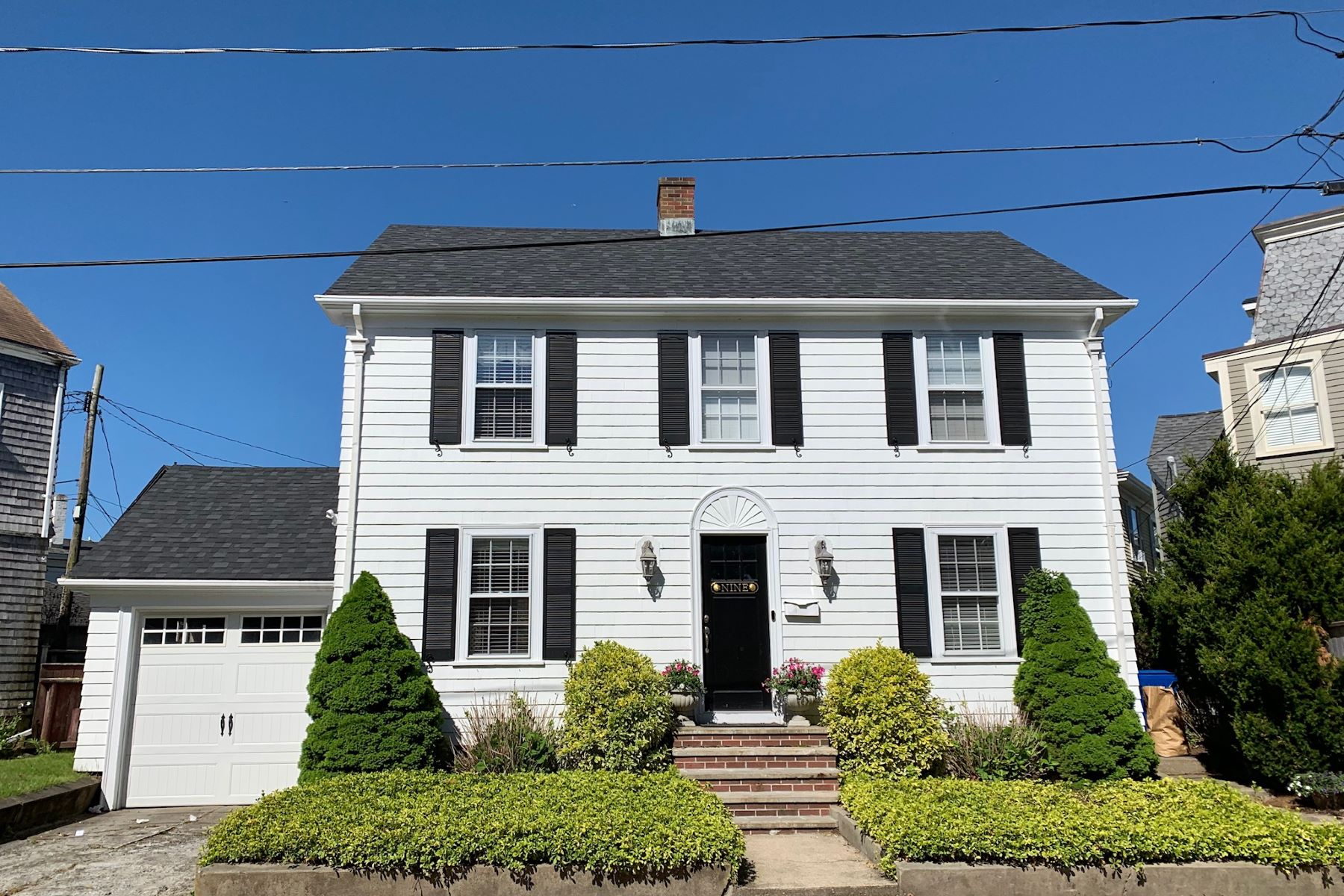Single Family Homes for Sale at Adorable Colonial on Historic Hill 9 Brinley Street Newport, Rhode Island 02840 United States