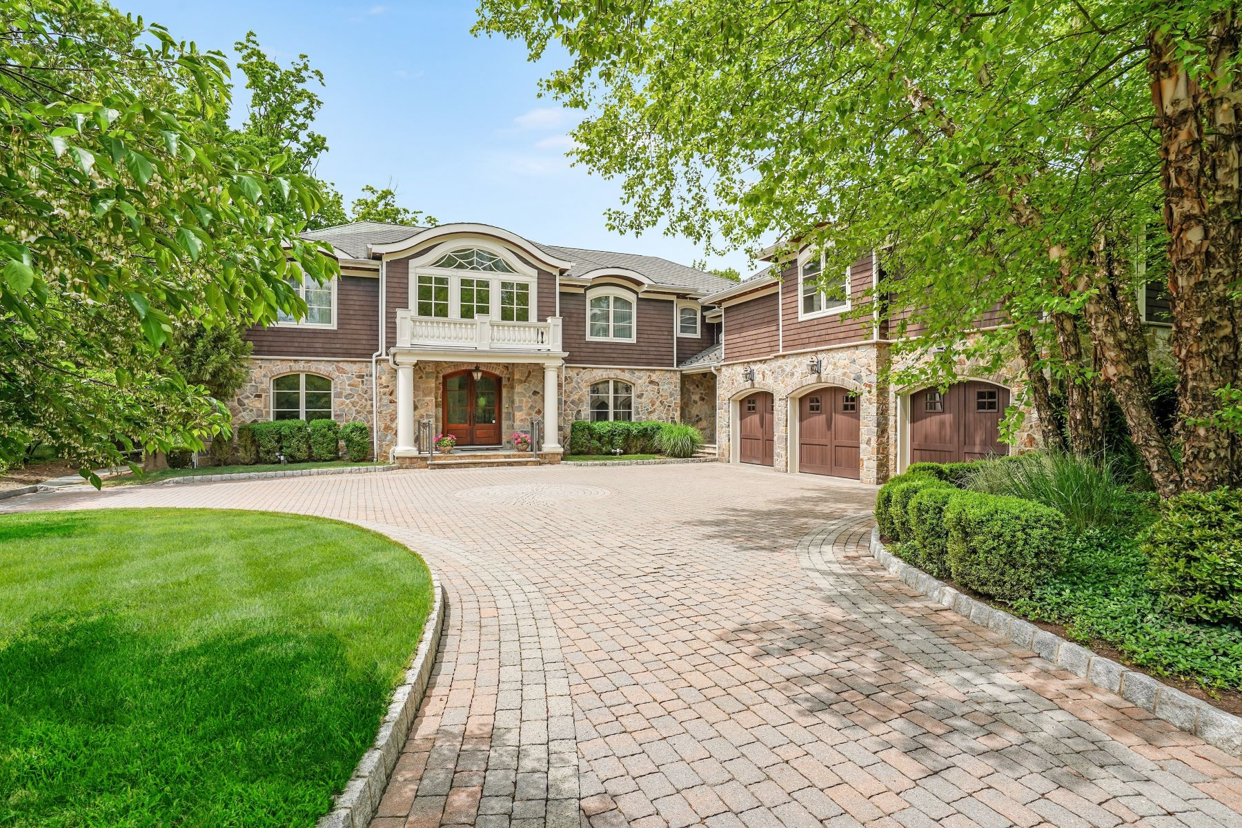 Single Family Homes for Sale at Architectural & Scenic Grandeur 296 Hartshorn Drive, Short Hills, New Jersey 07078 United States