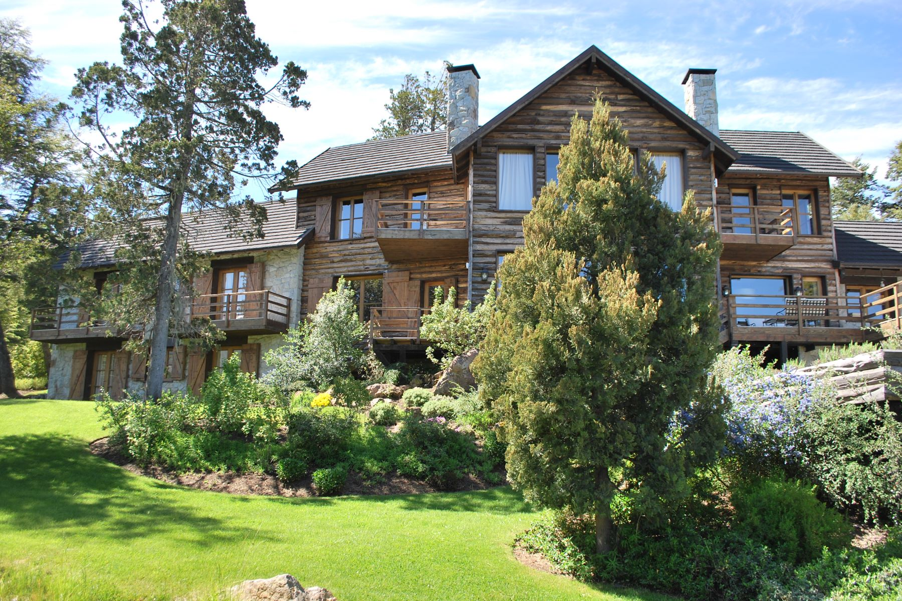 Single Family Home for Sale at Incomparable Mounting Retreat with Lake View Bariloche, Rio Negro Argentina