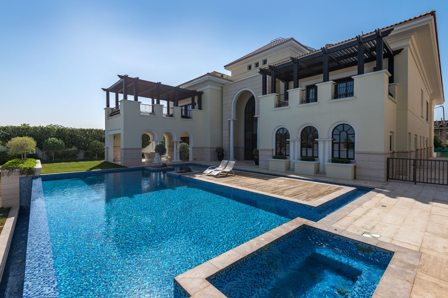 Single Family Home for Sale at Mediterranean Mansion on the Crystal Lagoon Dubai, United Arab Emirates