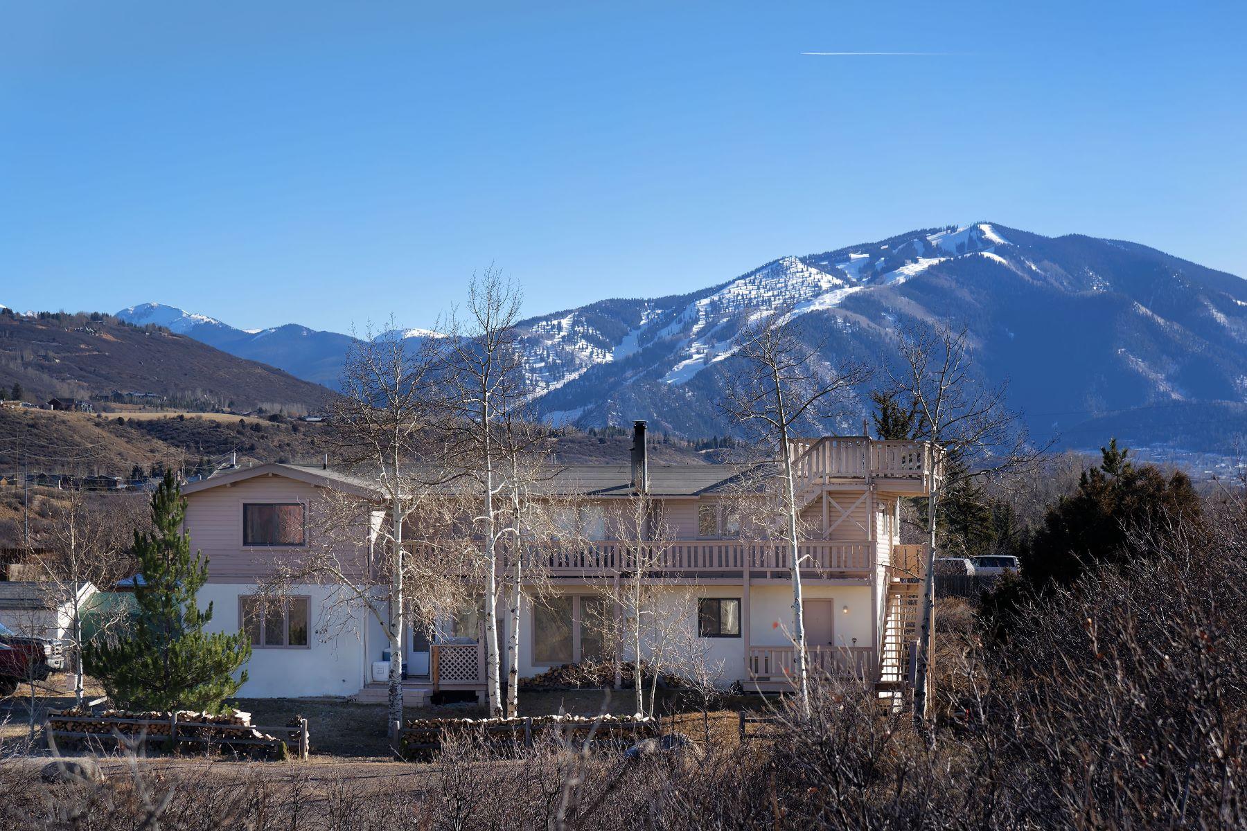 Многосемейный дом для того Продажа на Excellent Development Opportunity 50 Twining Flats Road, Aspen, Колорадо, 81611 Соединенные Штаты