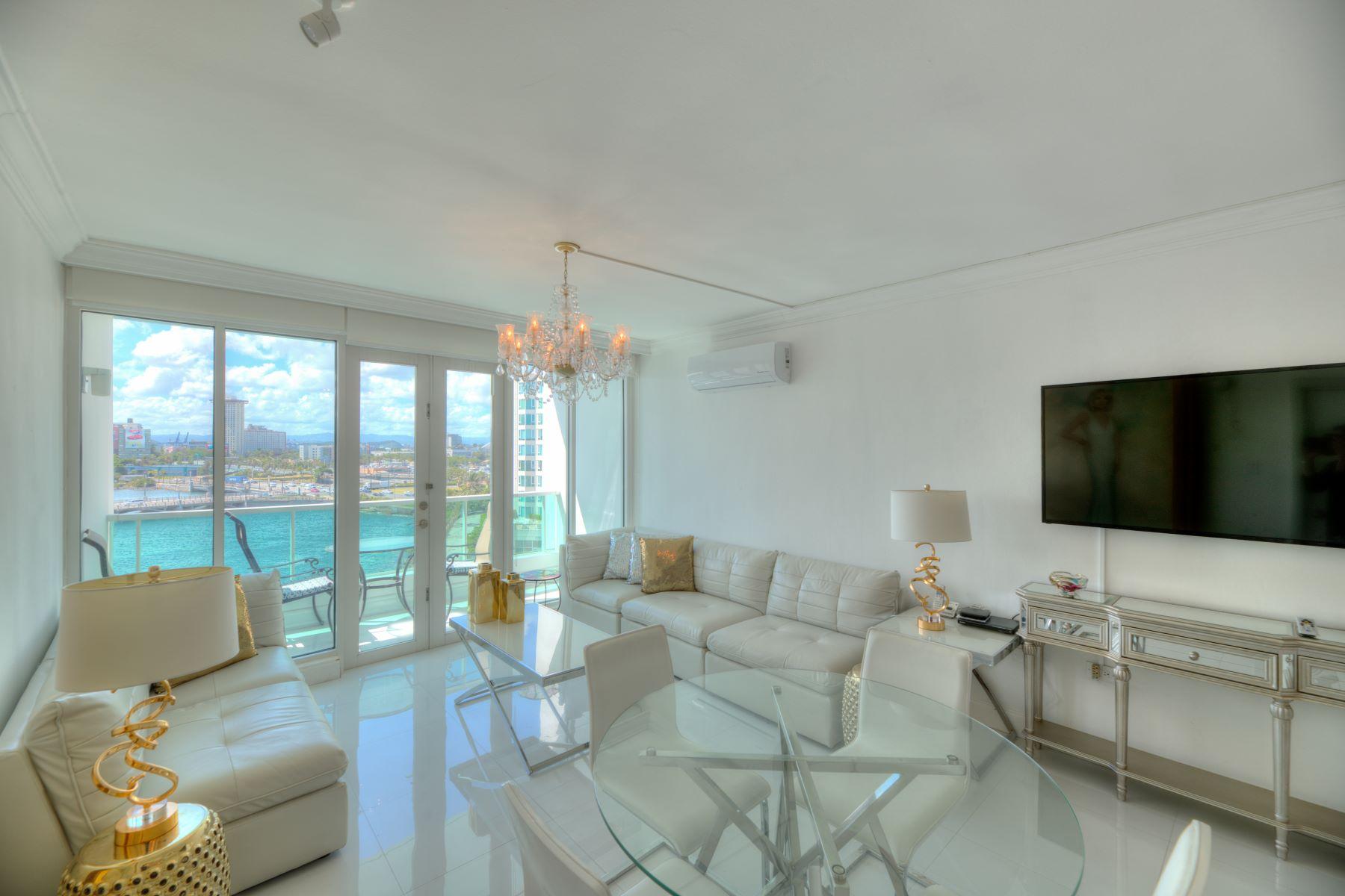 Apartments 용 임대 에 Oceanfront Two Bedroom Villa 1 Los Rosales St. Apt. 7725, 7726 & 7727 San Juan, Puerto Rico 00901 푸에르토리코