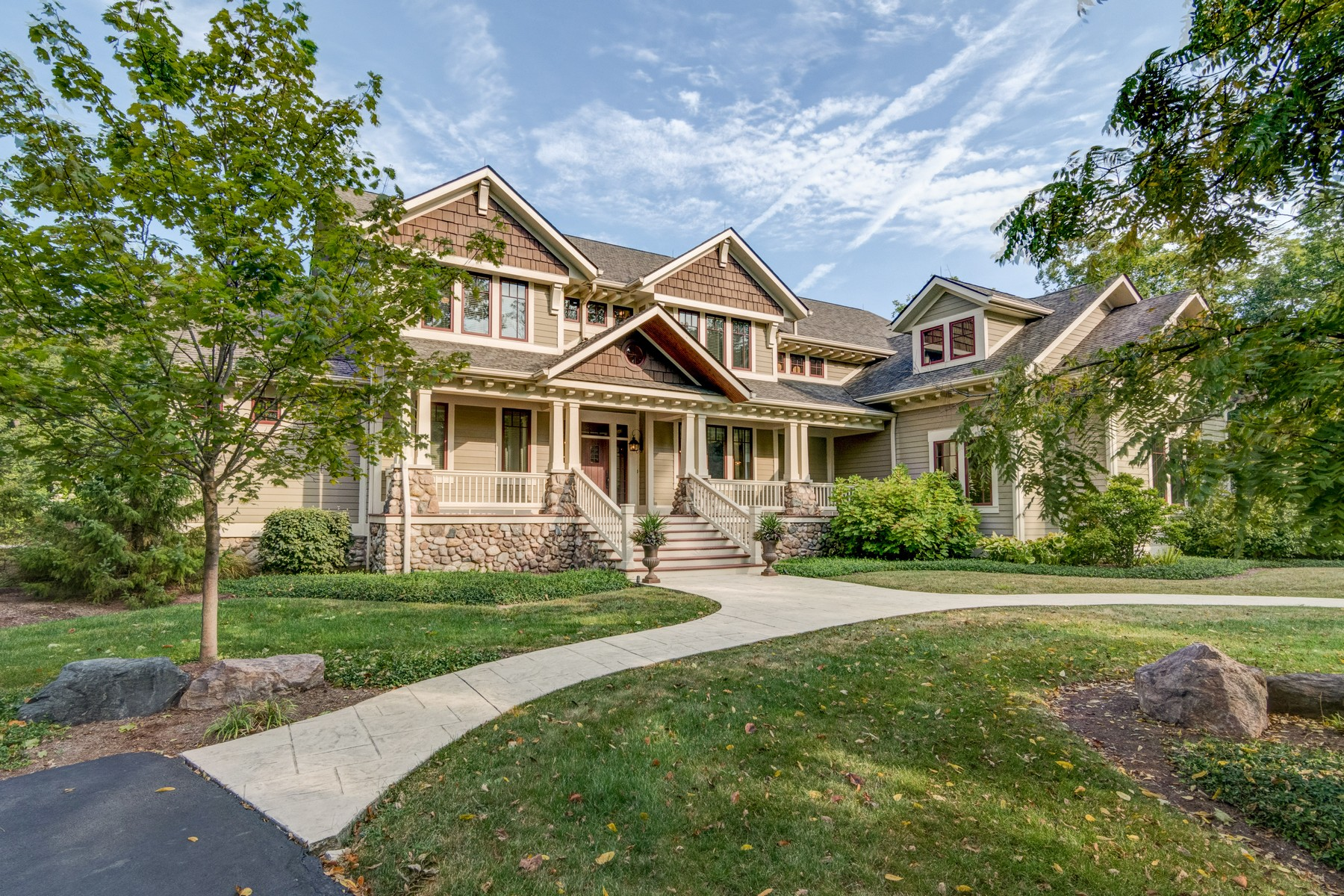 Single Family Home for Sale at Stunning Estate 2020 W. 136th Street, Carmel, Indiana, 46032 United States
