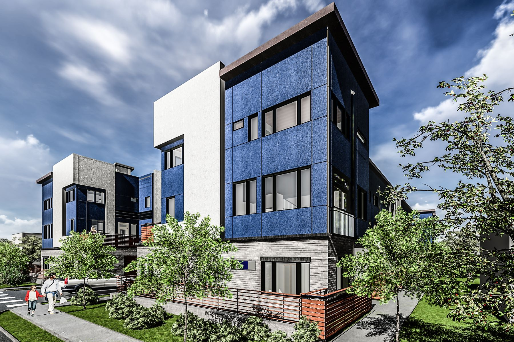 Townhouse for Active at Brand New Townhomes In Observatory Park 4719 E Iliff Ave Denver, Colorado 80222 United States