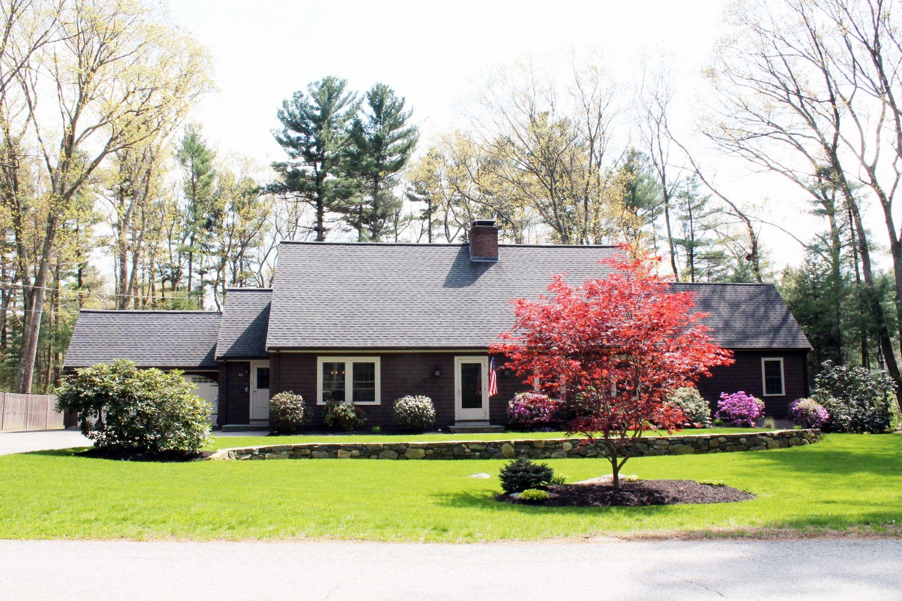 Single Family Home for Active at 46 Hayden Lane, Bedford 46 Hayden Ln Bedford, Massachusetts 01730 United States