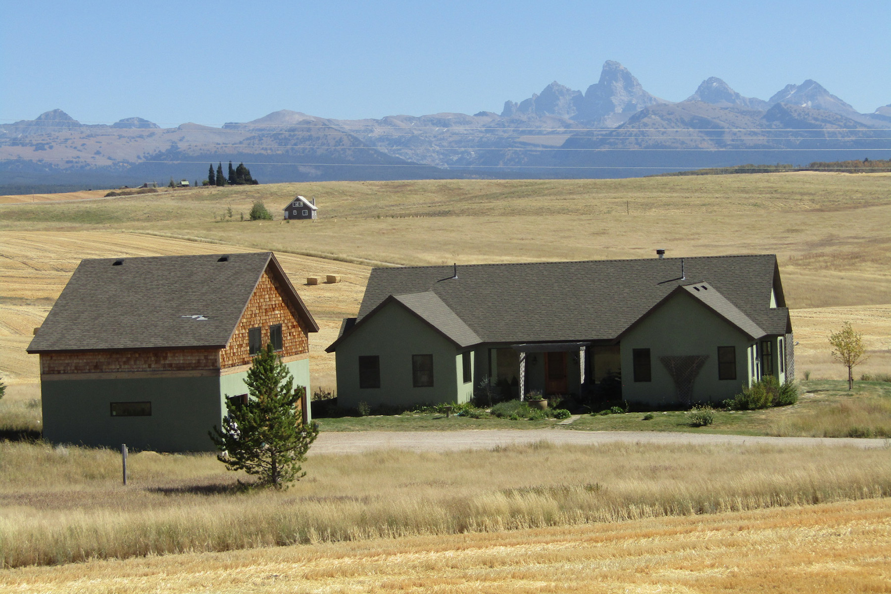 Single Family Homes for Sale at Country Home with European Flare - Teton Views 5126 Woodrush Rd Felt, Idaho 83424 United States