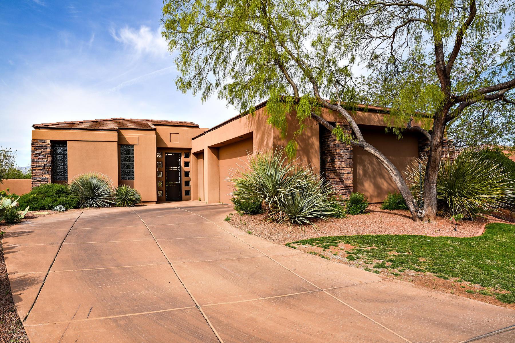 Maison unifamiliale pour l Vente à Golf Course Hideway 2221 Cohonina Circle, St. George, Utah, 84770 États-Unis