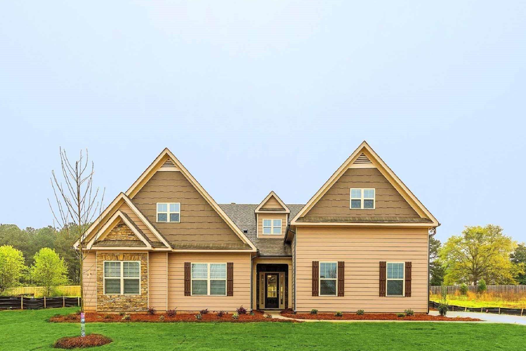 Tek Ailelik Ev için Satış at New Constriction Ranch On A Full Basement 210 Wilde Oak Court Canton, Georgia, 30115 Amerika Birleşik Devletleri