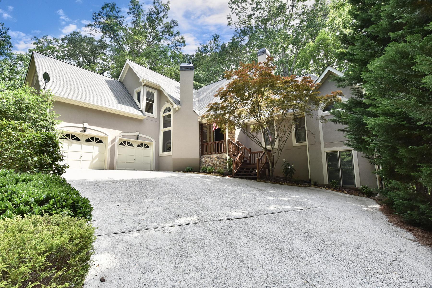 一戸建て のために 売買 アット Beautiful Private Home On Almost Two Acres In Milton 110 Providence Plantation Drive Alpharetta, ジョージア, 30004 アメリカ合衆国